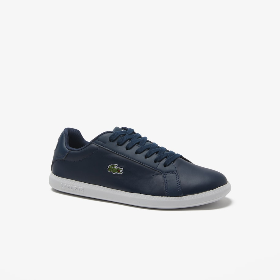 Women's Graduate Tonal Leather Trainers