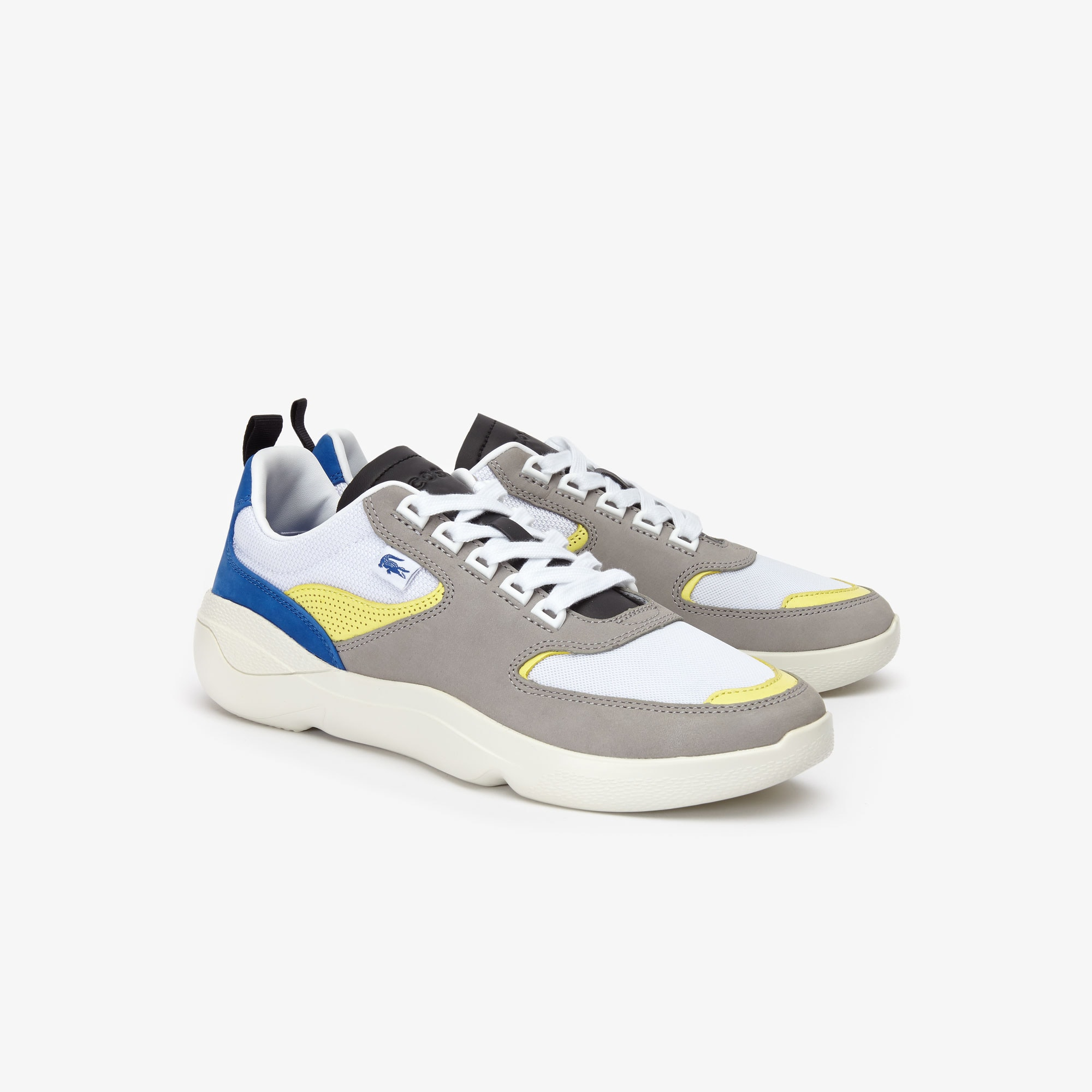 Men's Wildcard Leather and Textile Trainers