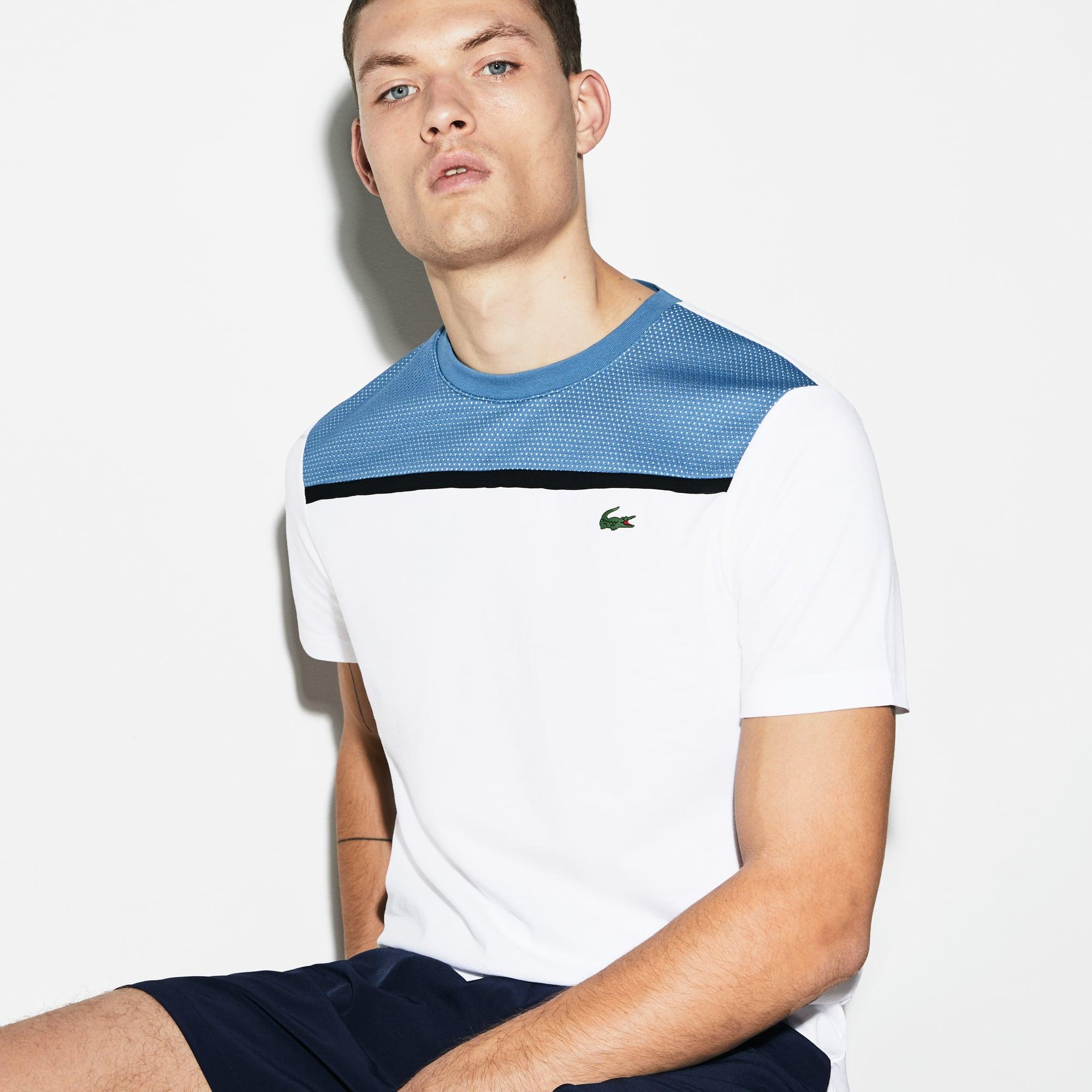 0f3fb29cf + 1 colour. New Arrival. Men s Lacoste SPORT Crew Neck Ultra Light Cotton Tennis  T-shirt