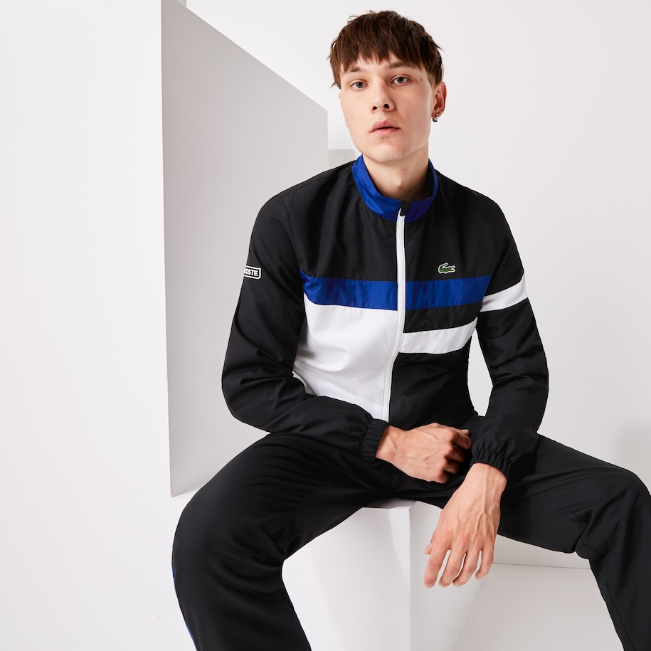 Men's Lacoste SPORT Lightweight Colourblock Tracksuit