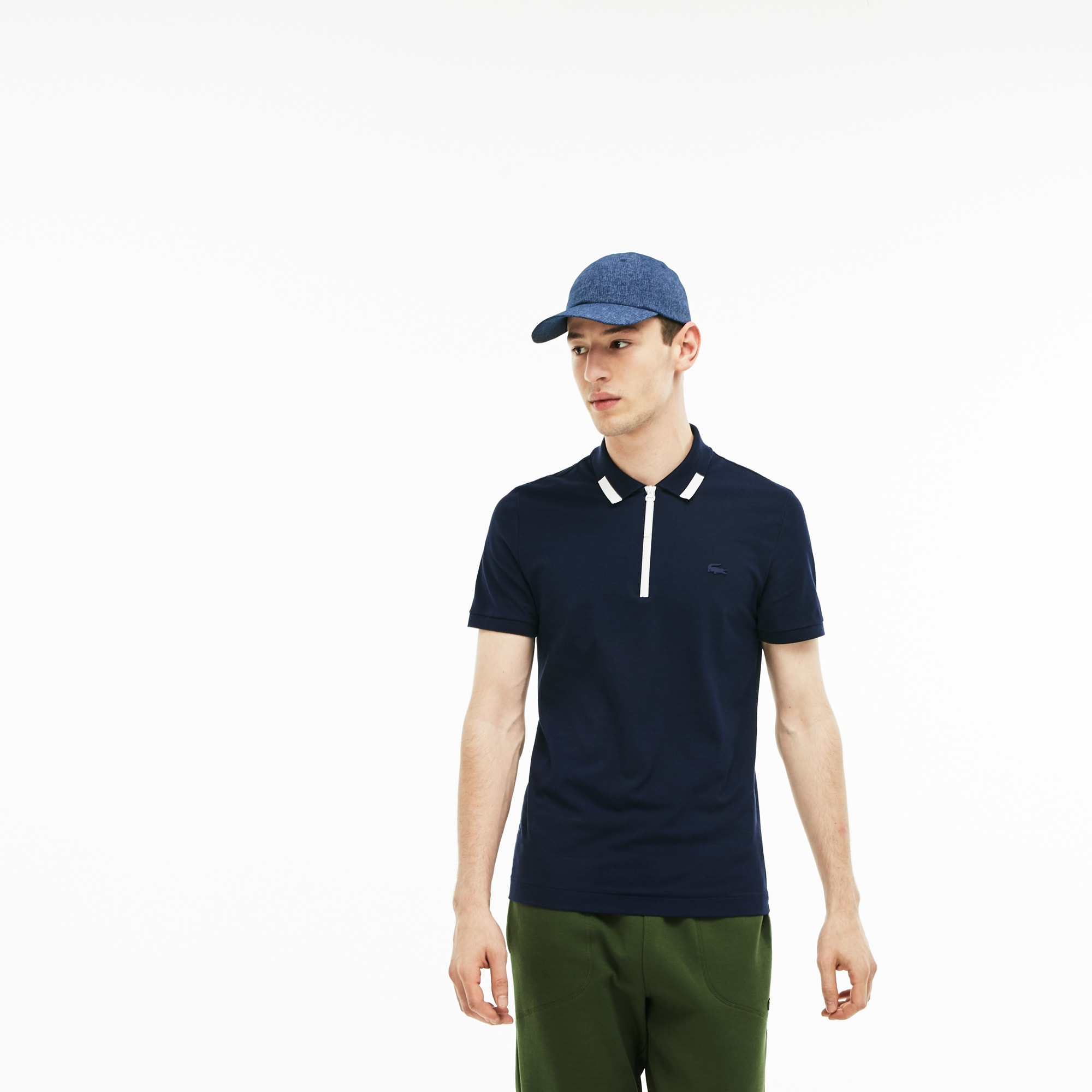 t shirt slim fit lacoste
