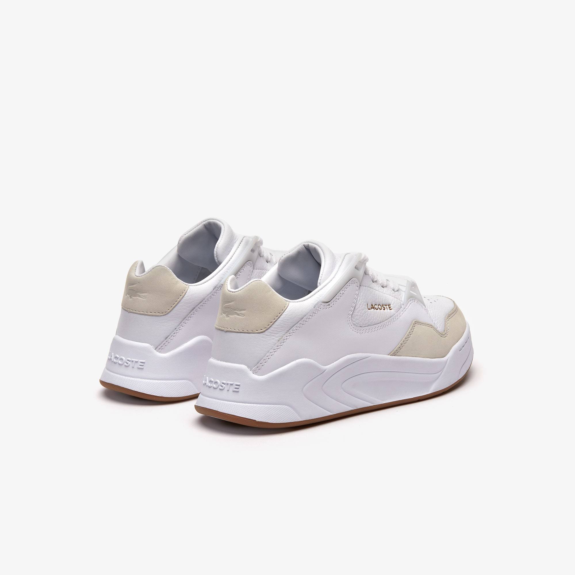 Women's Court Slam Tonal Leather Trainers