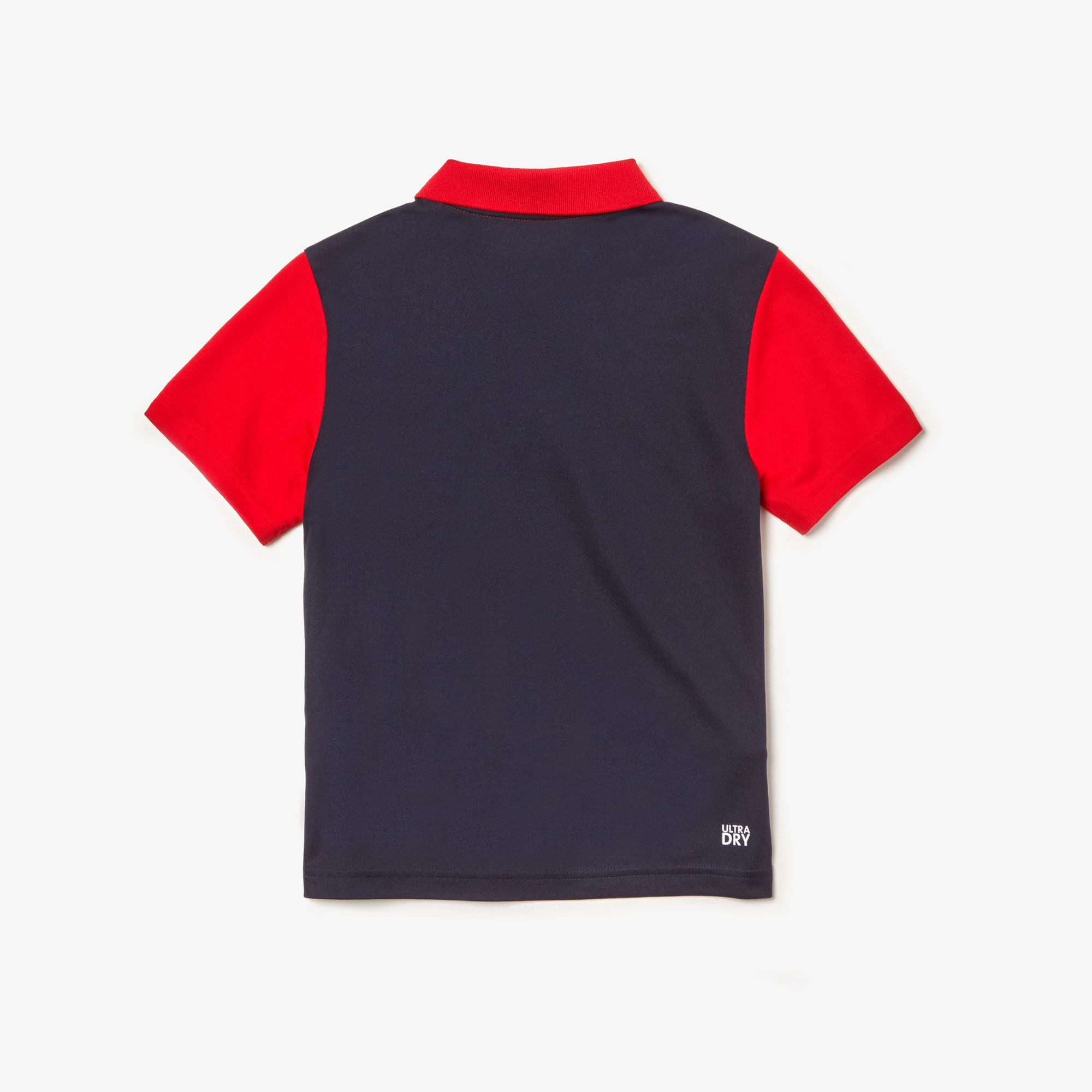 Boys' Lacoste SPORT Signature Band Colourblock Breathable Piqué Polo Shirt