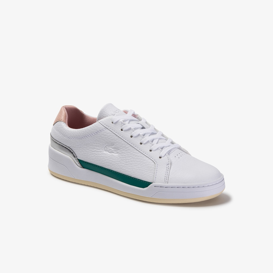 Women's Challenge Tumbled Leather Trainers