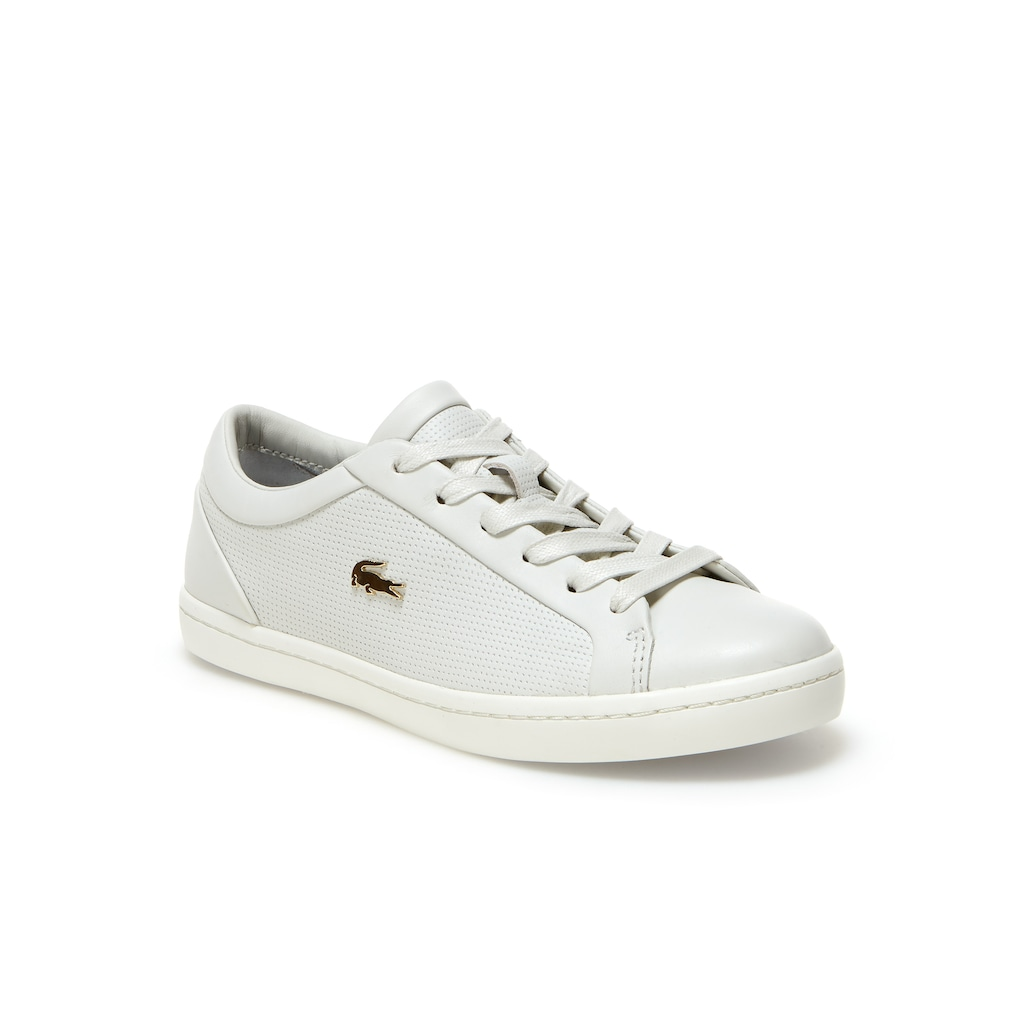 66fedd87cde503 Women s Straightset Nappa Leather Trainers