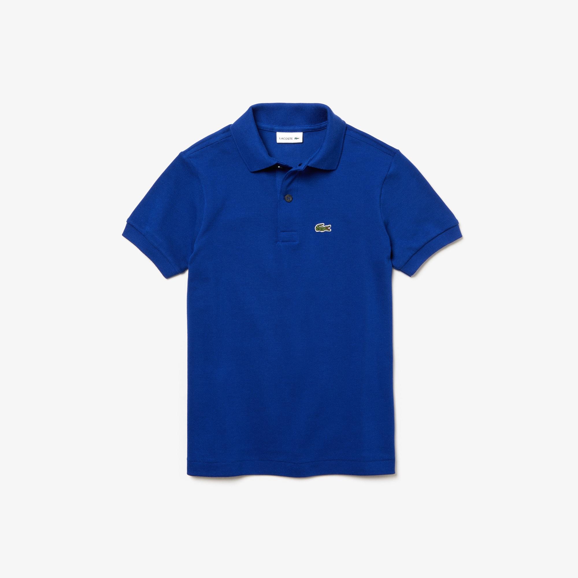 3c17df096f Kids' Lacoste Petit Piqué Polo Shirt | LACOSTE