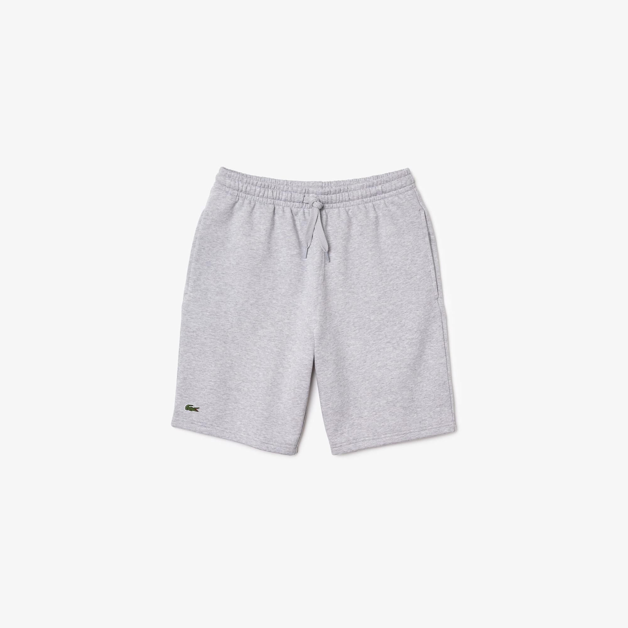 Fleece petite shorts nude