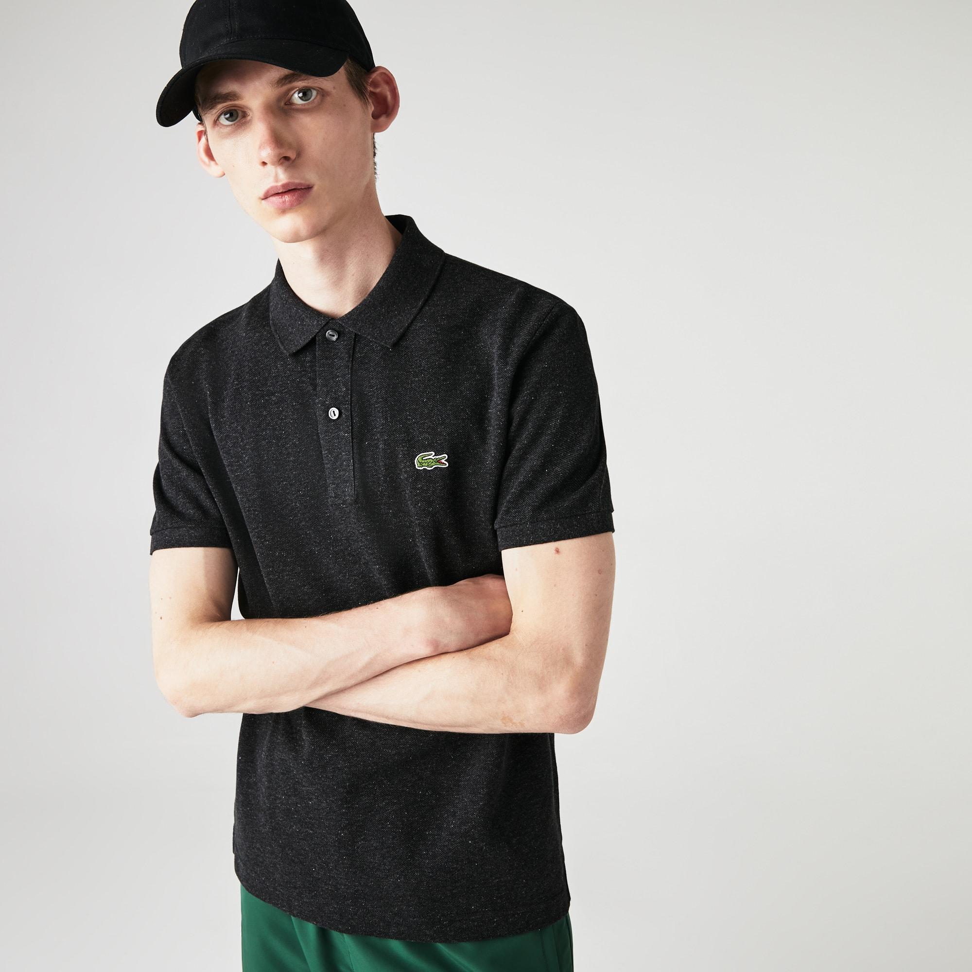 2d6213c3 Men's Slim fit Lacoste Polo Shirt in petit piqué