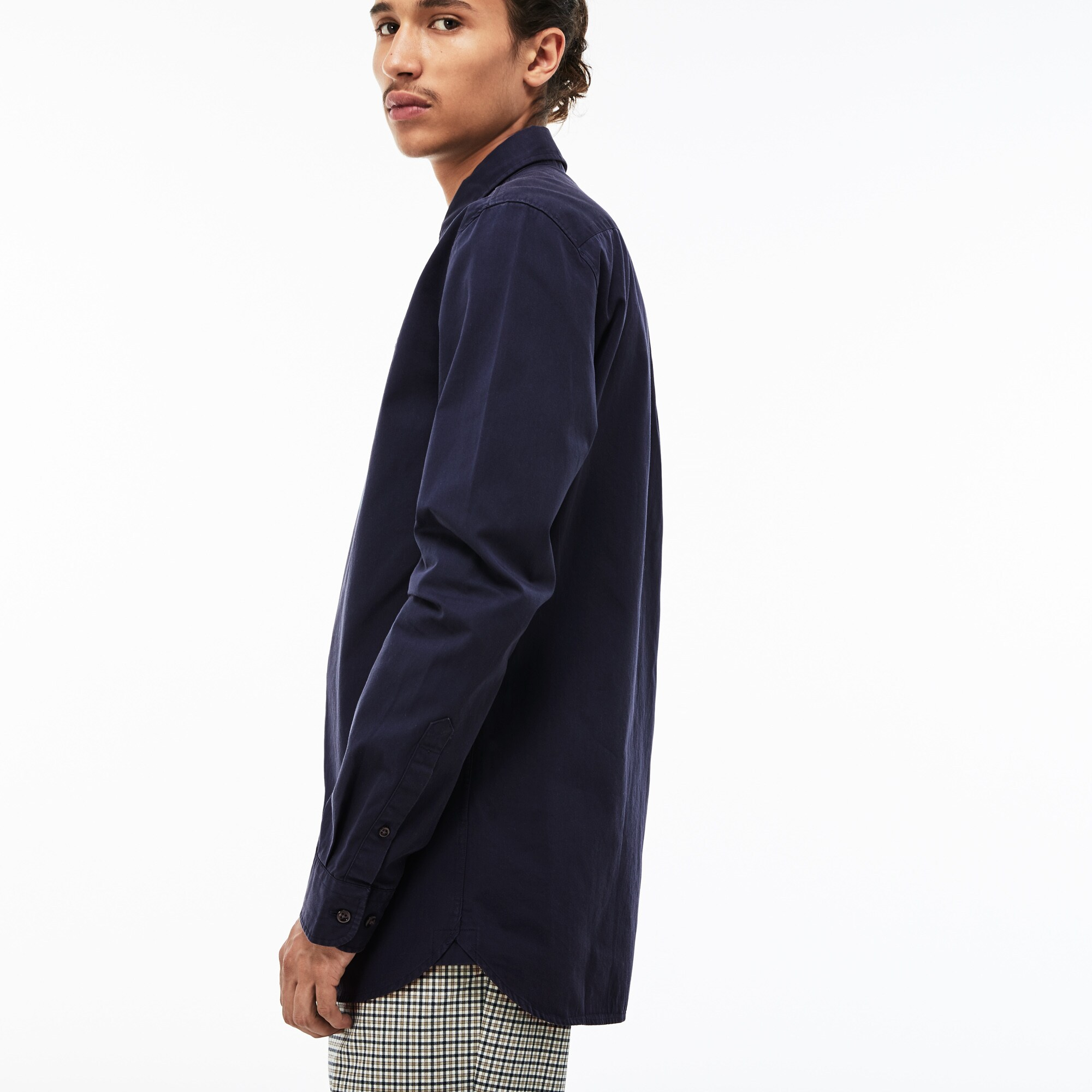 368f68db62 Men's Lacoste LIVE Skinny Fit Cotton Poplin Shirt