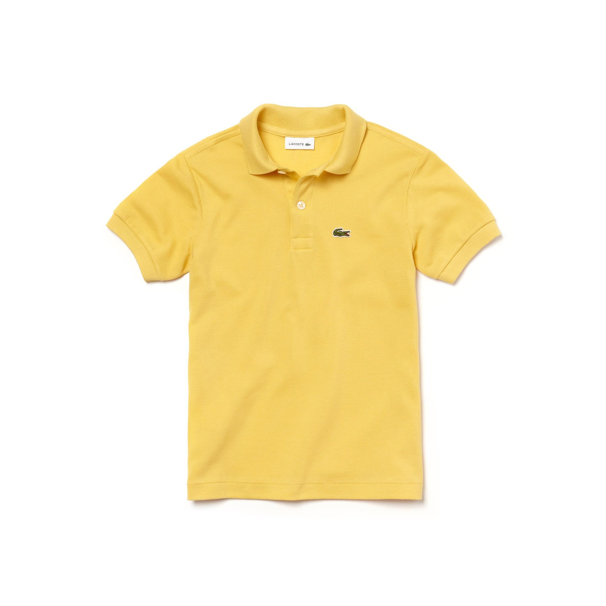 23c70353 Kids' Lacoste Petit Piqué Polo Shirt | LACOSTE