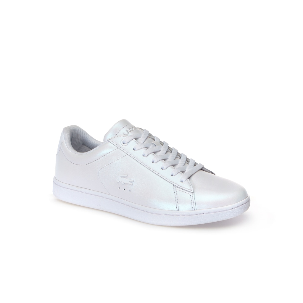 e415e6715ed54 Women s Carnaby Evo Pearlised Leather Trainers