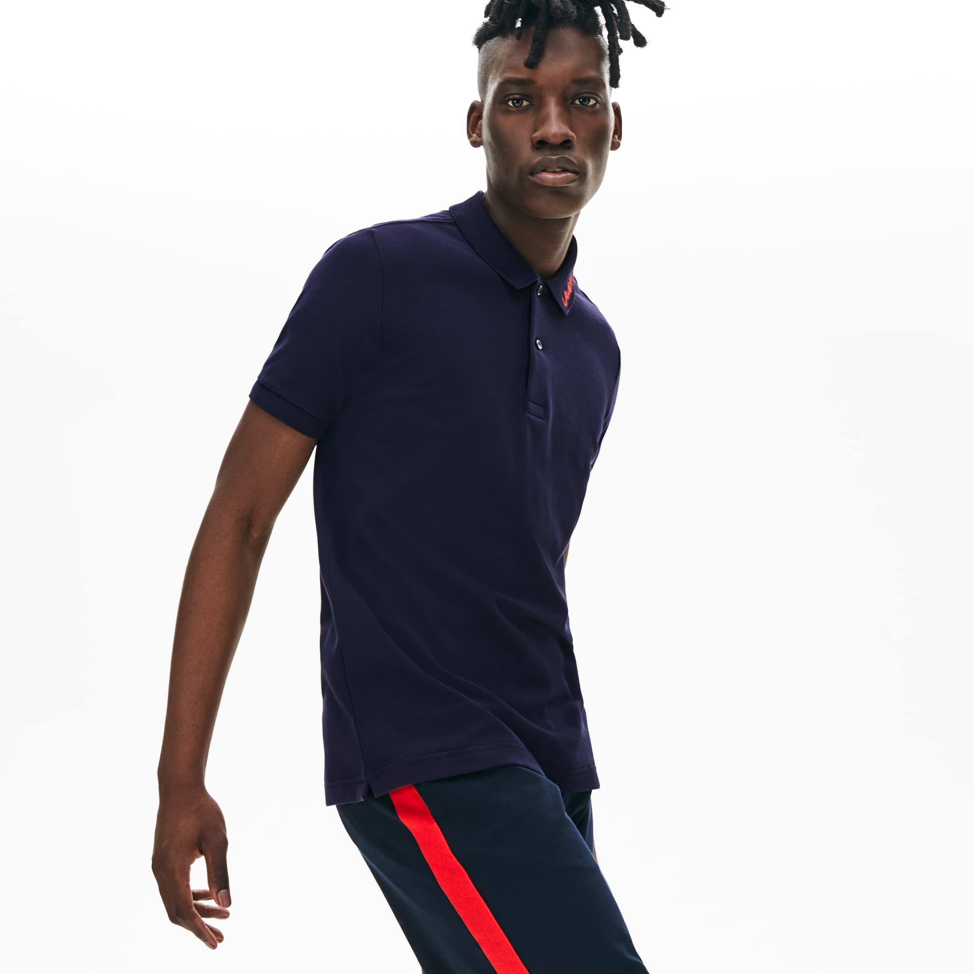 Unisex Live Fit Signature Slim Polo Petit Lacoste Piqué Embroidery 8w0PXOkNn