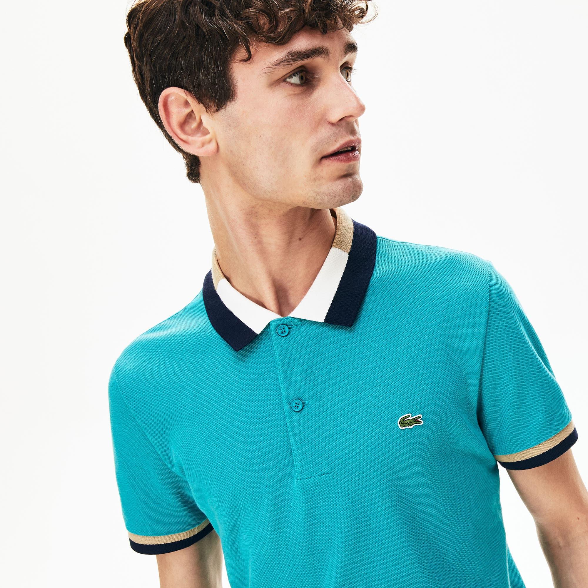 Men's Lacoste Slim fit Contrast Cotton Polo Shirt