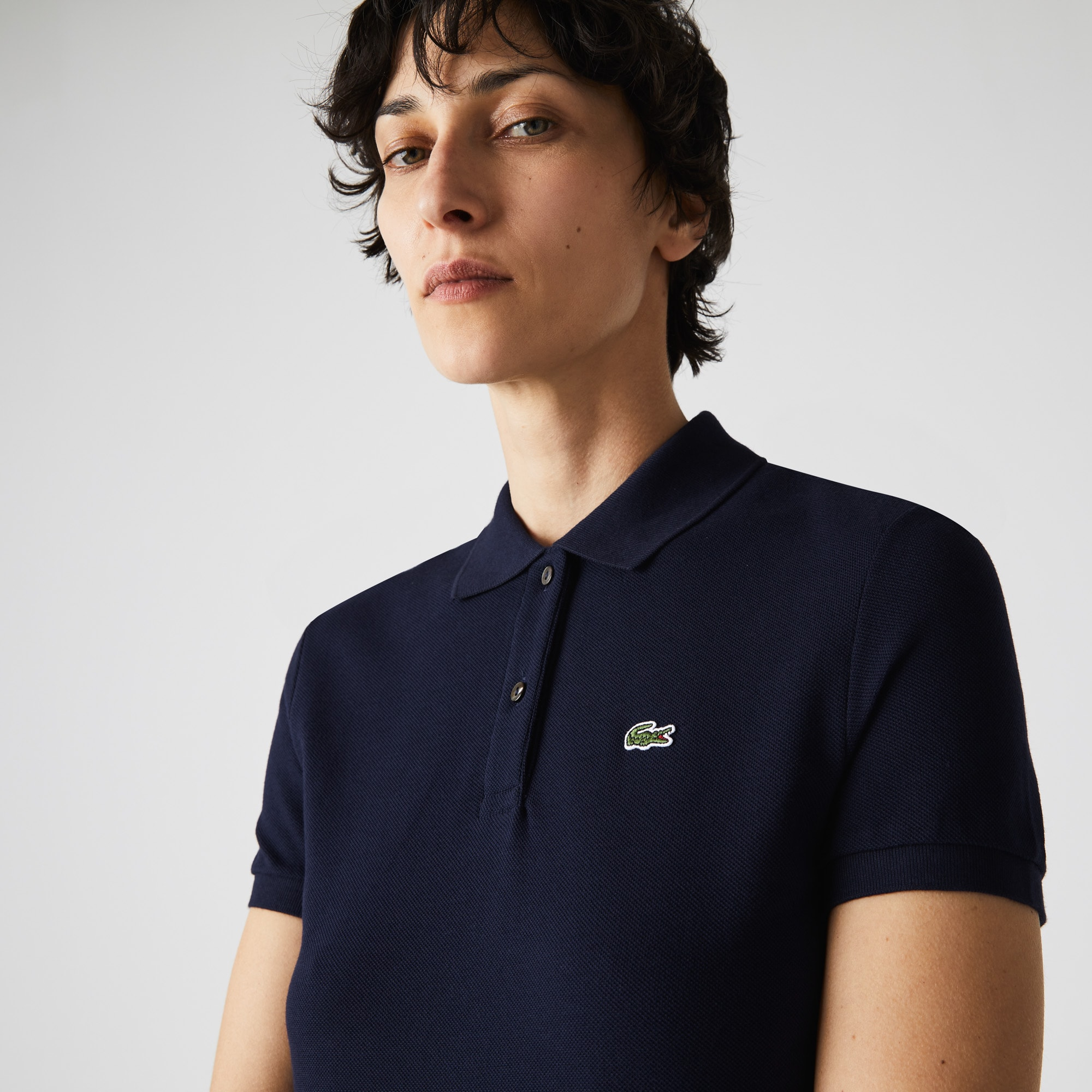 6dc7e97fe29e9c Women s Lacoste Classic Fit Soft Cotton Petit Piqué Polo Shirt ...
