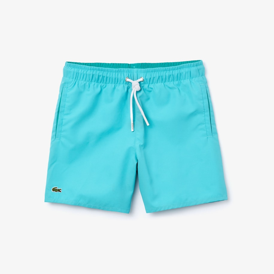 Boys' Quick-Dry Solid Swim Shorts