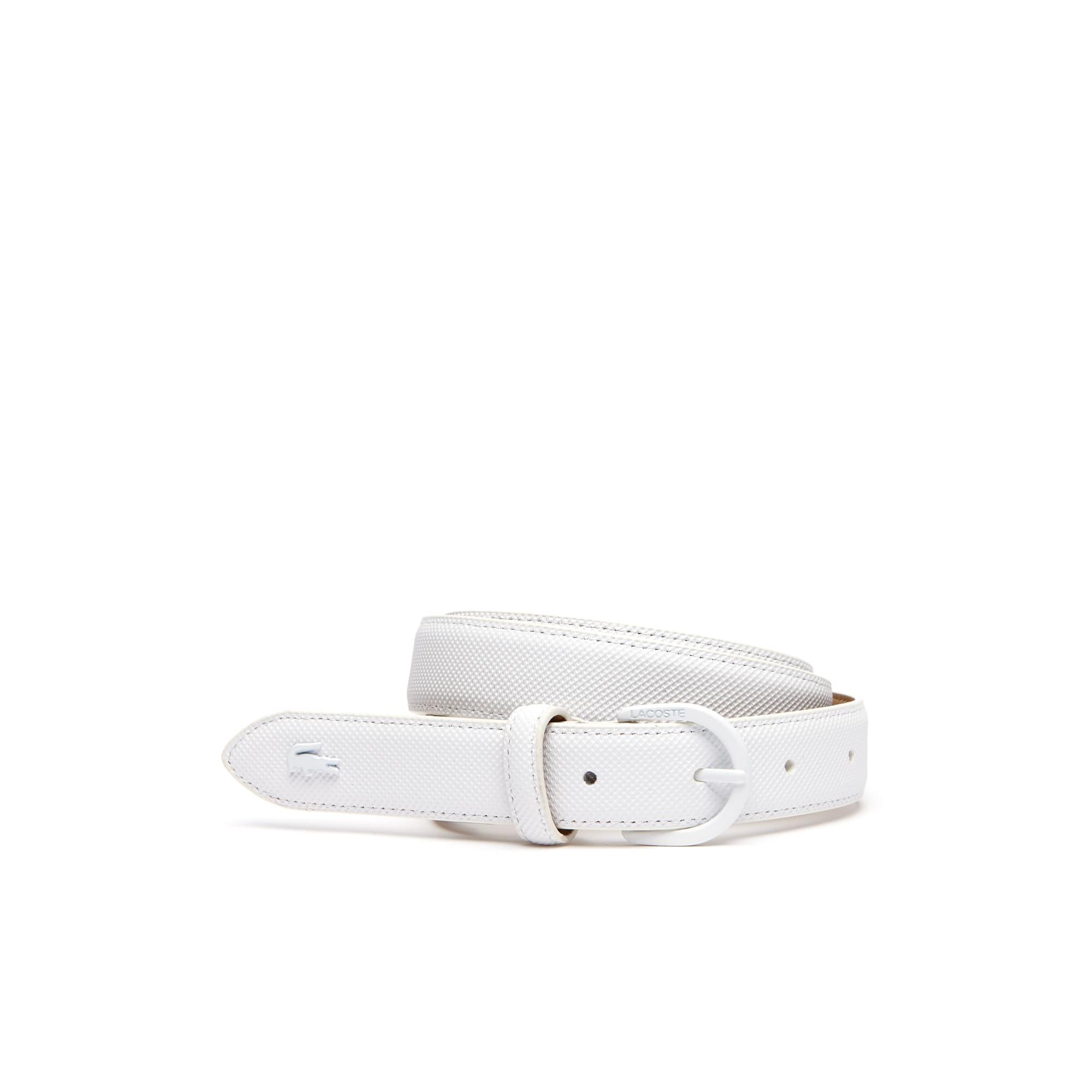 Women's L.12.12 Concept Monochrome Piqué Tongue Buckle Belt