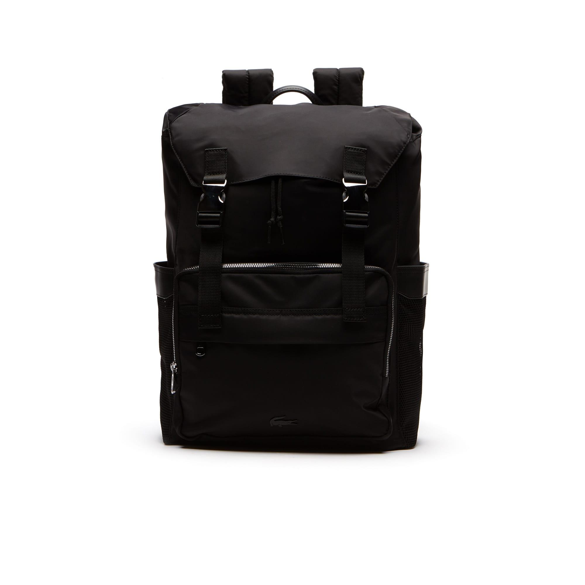 Men's Pete Lightweight Nylon Flap Backpack