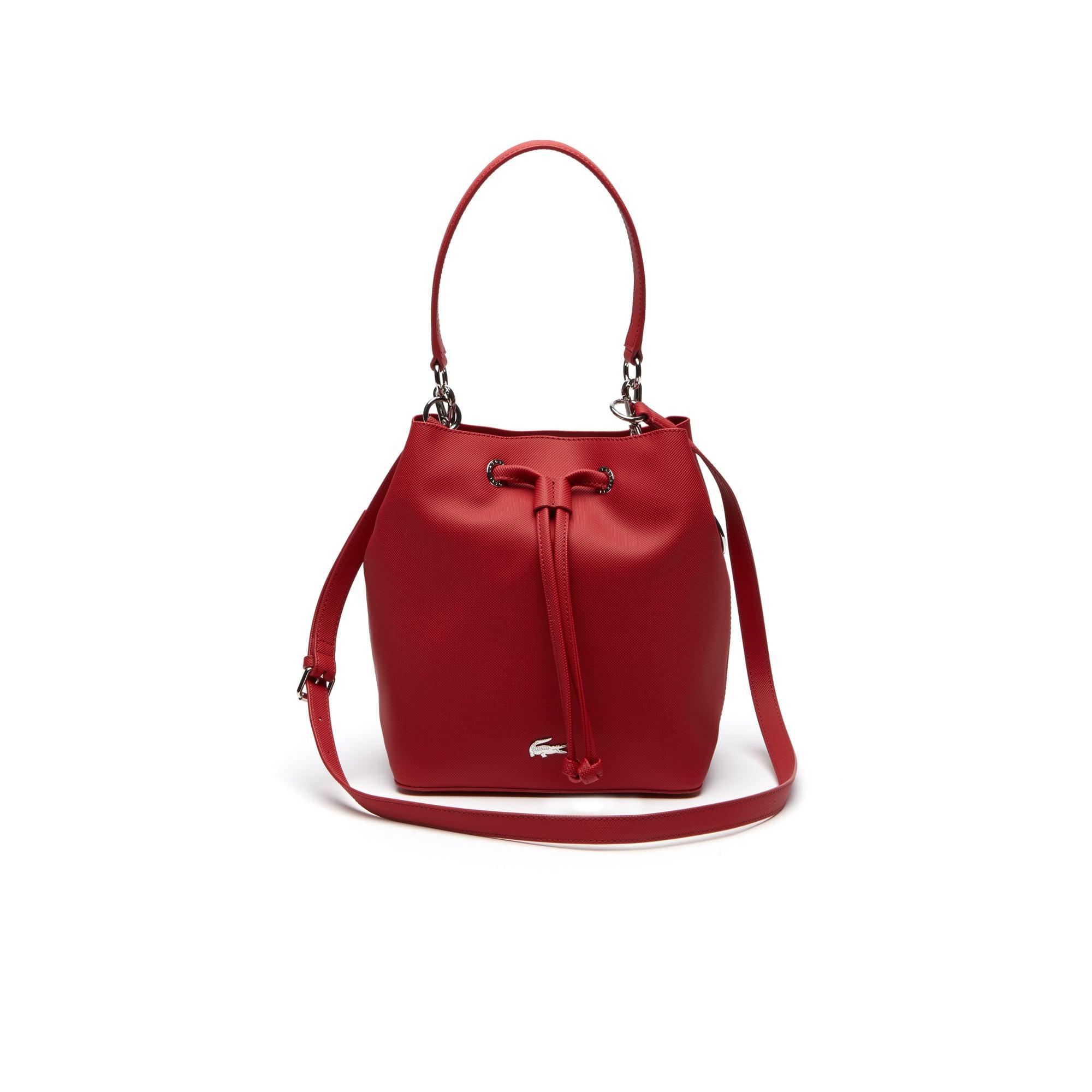 Women's Daily Classic Coated Piqué Canvas Bucket Bag