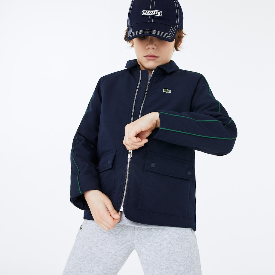 Boys' Zip Quilted Jacket