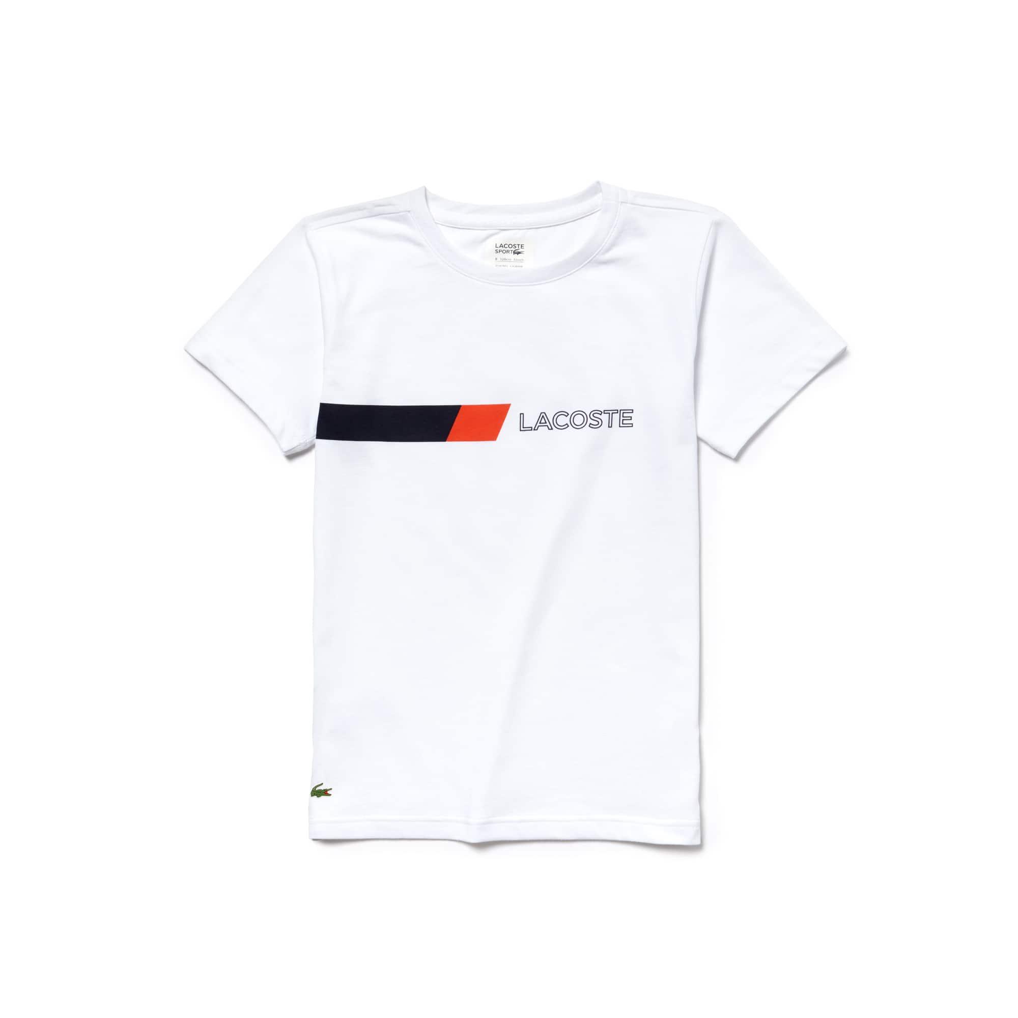 Boys' Lacoste SPORT Tennis Colorblock Accent Jersey T-shirt
