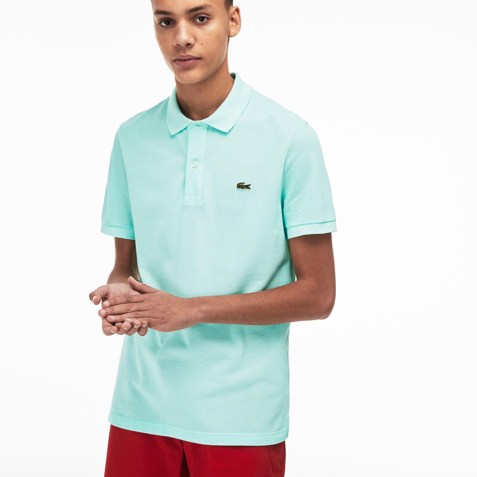 Piqué Polo Petit Men's Lacoste Fit Shirt Slim In nOP0wk