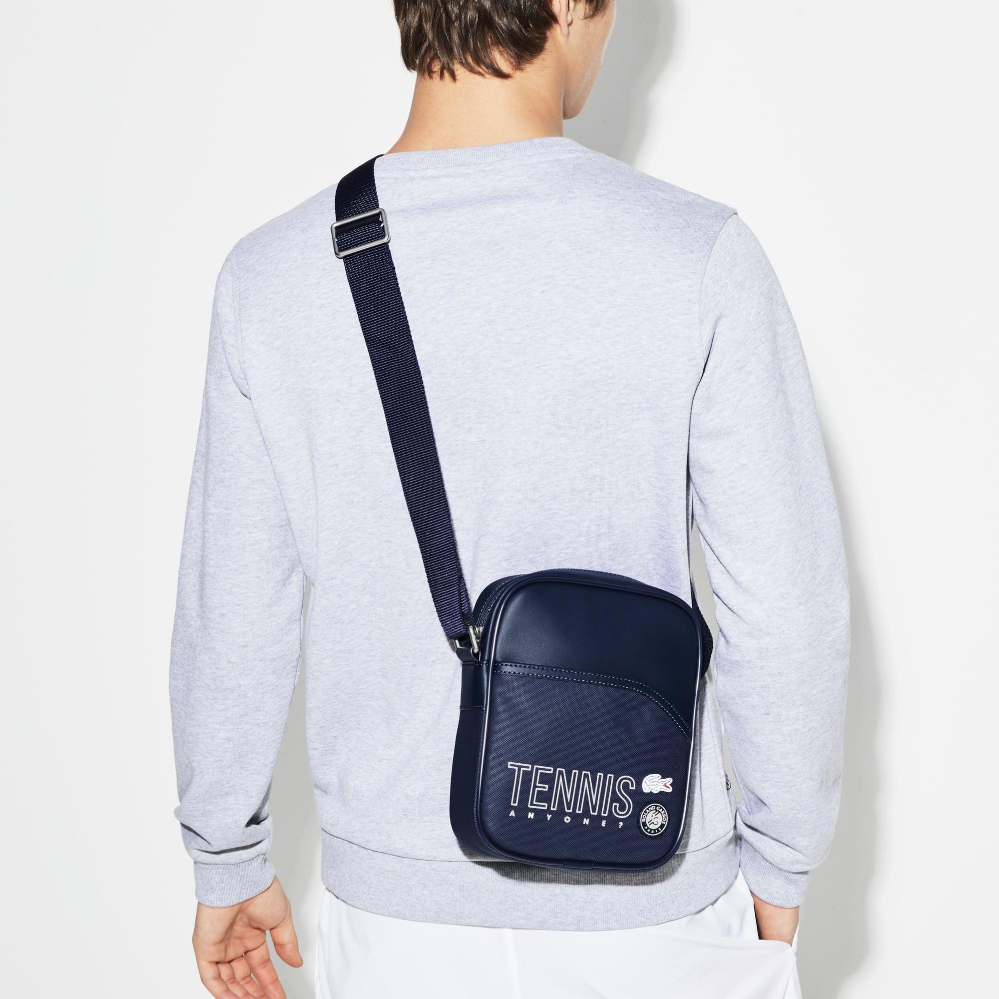 Men's Lacoste SPORT Roland Garros Lettering Vertical Bag