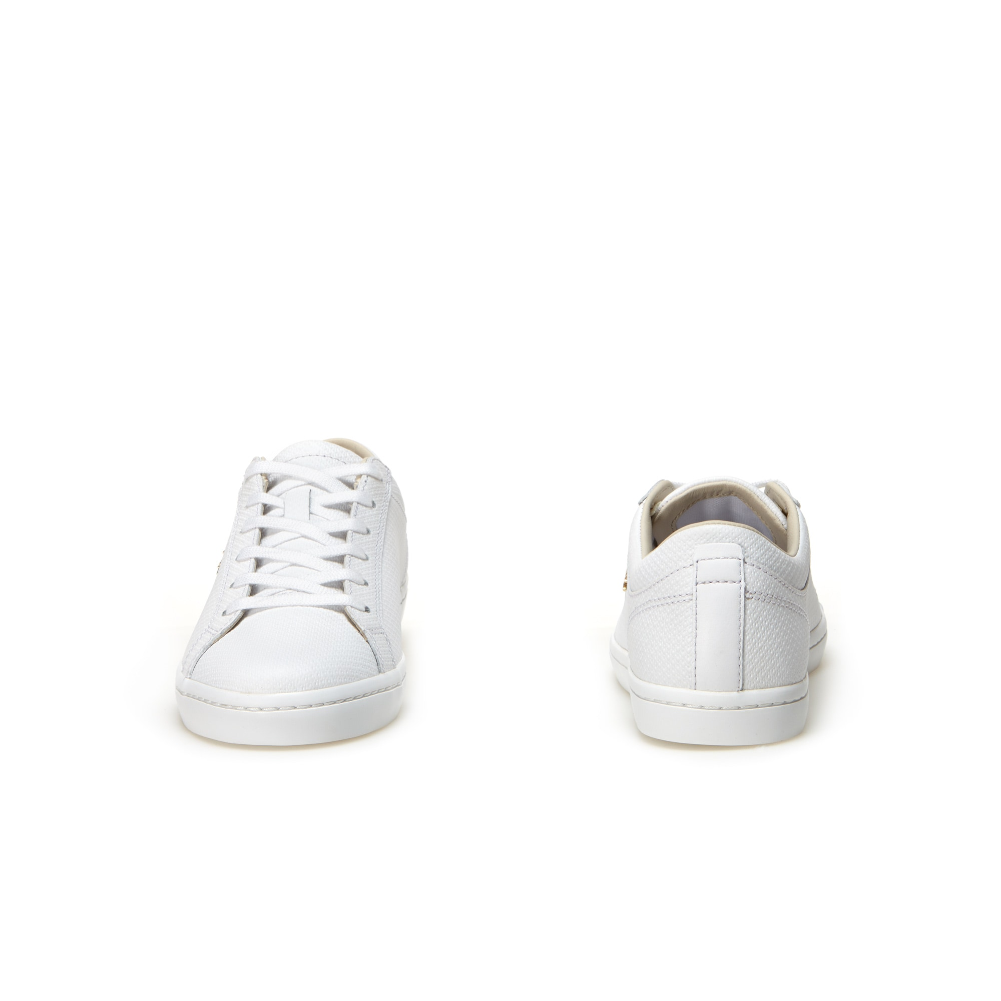 073e7630e795 Women s Straightset Leather trainers With Golden Croc