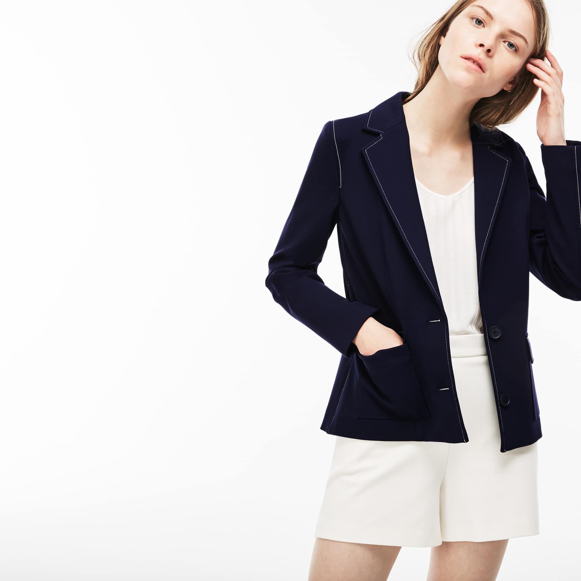Women's Stretch Milano Knit Blazer