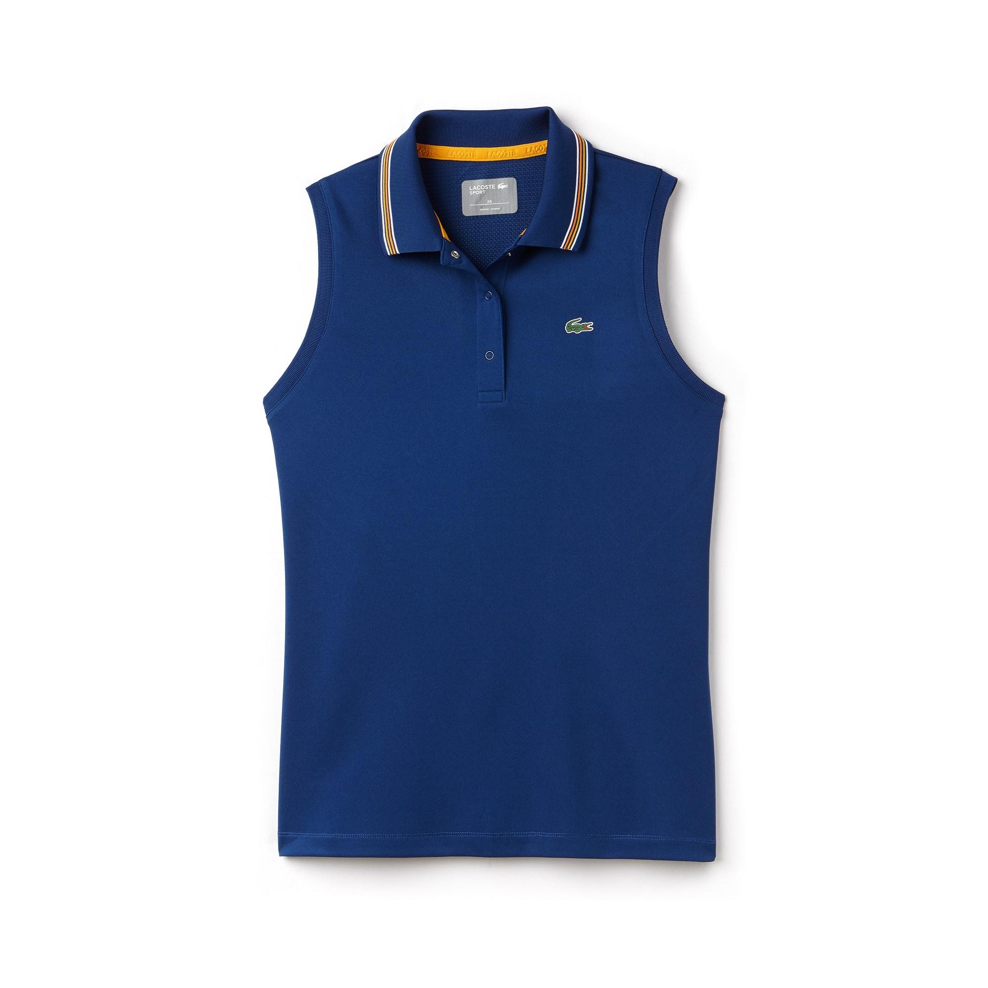 Women's Lacoste SPORT Tech Jersey And Piqué Tennis Polo Shirt