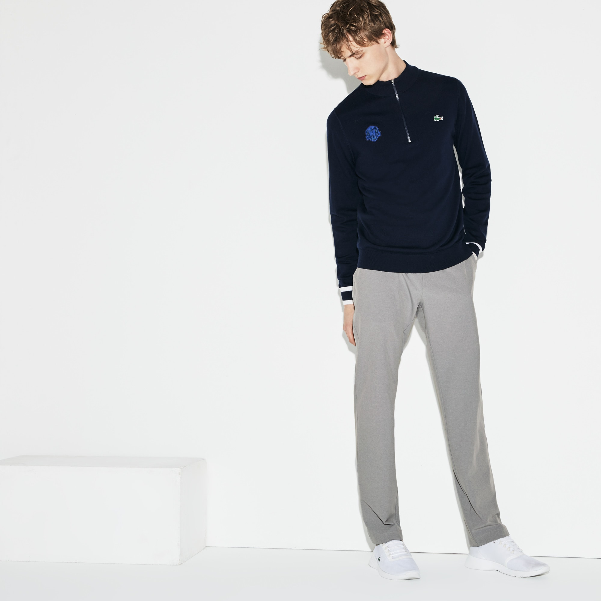 Men's Lacoste SPORT Ryder Cup Edition Taffeta Golf Chino Pants