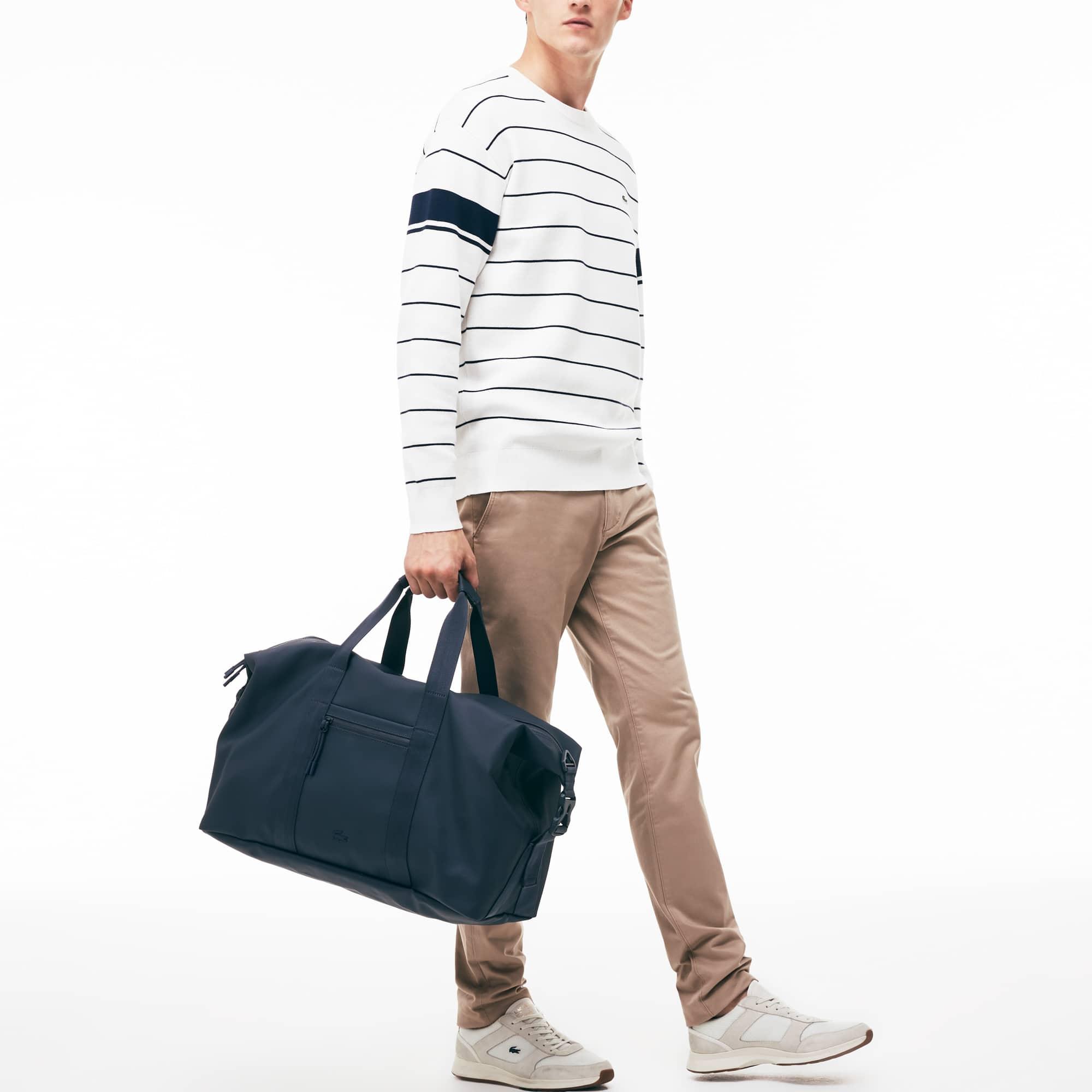 Men's L.12.12 Concept Petit Piqué Weekend Bag