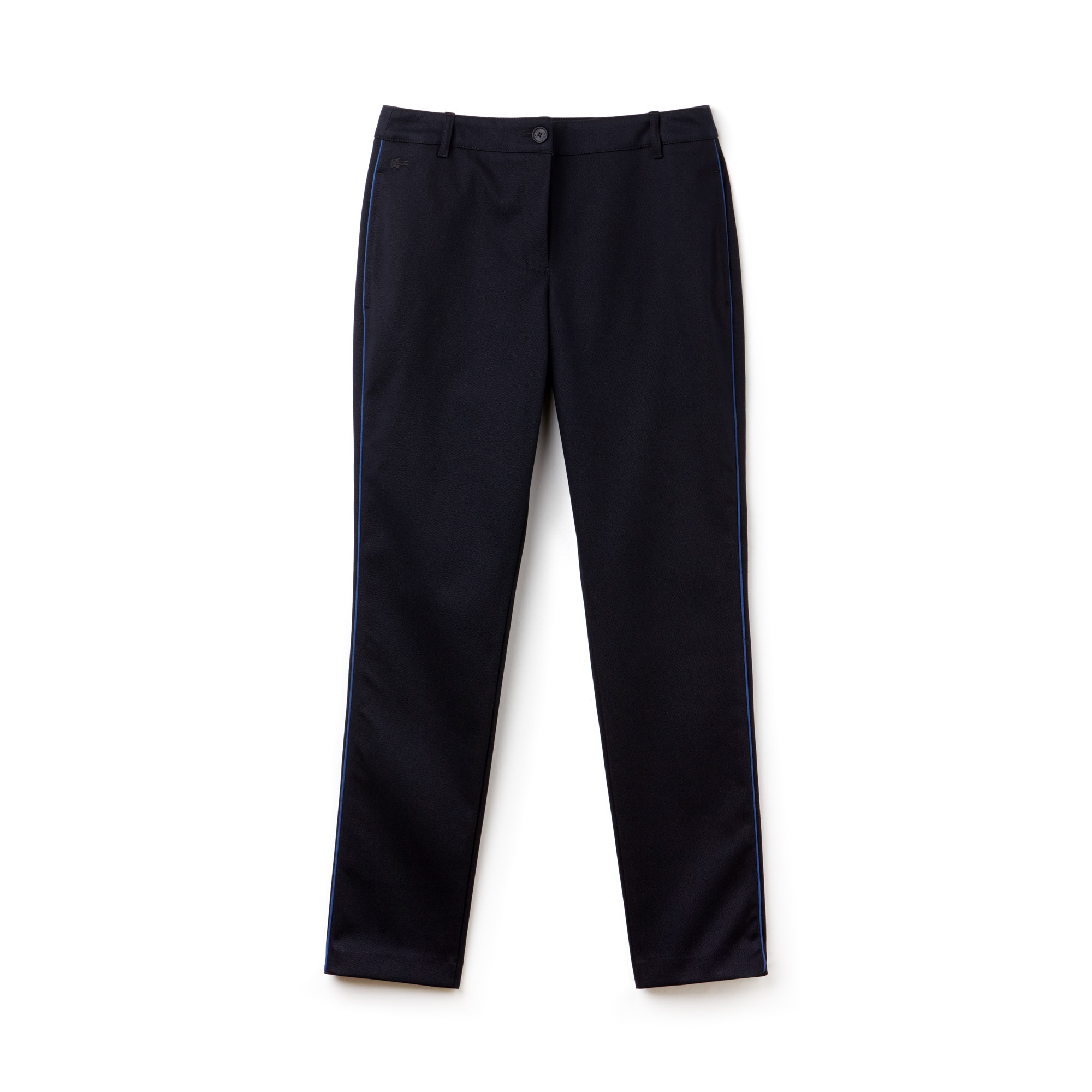 Women's Carrot Fit Piping Stretch Piqué Chino