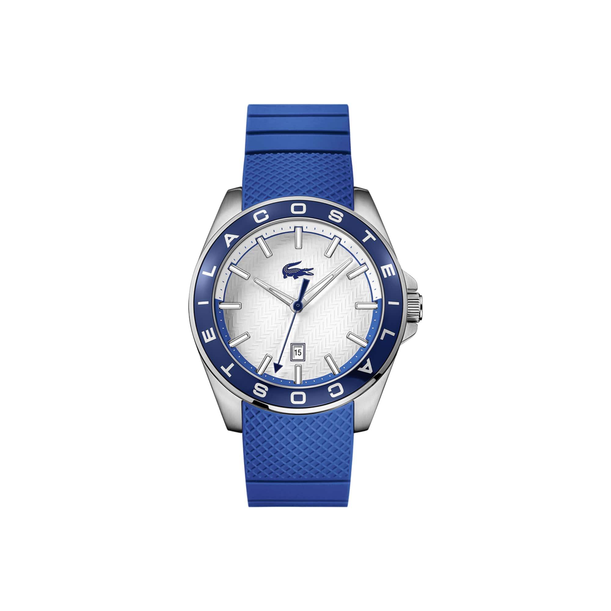 Men's Westport Watch with Blue Silicone Strap