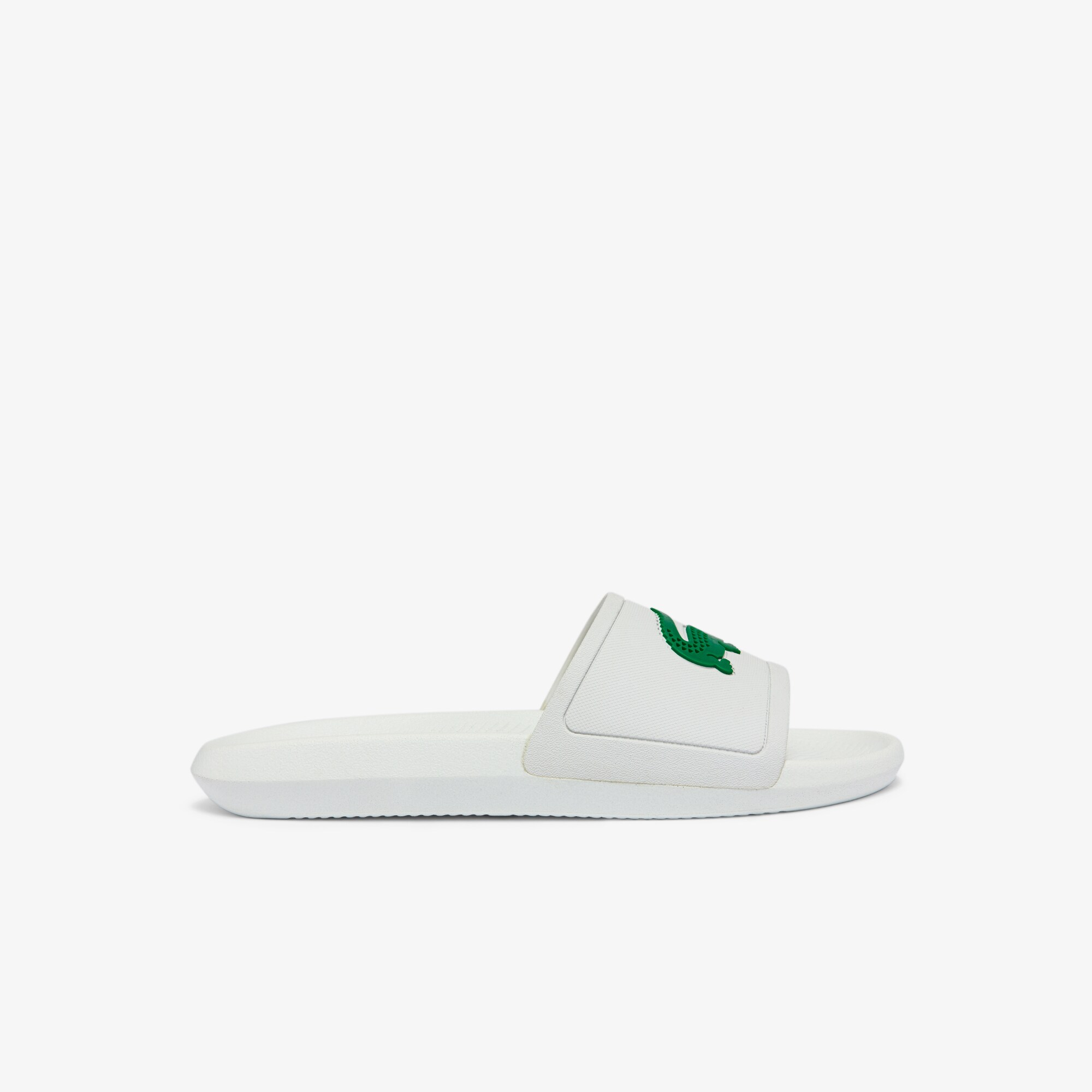 90886e7b3733 Men s Croco Slide Rubber Slides