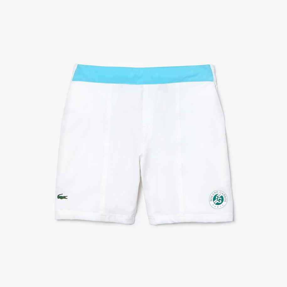 Boys' Lacoste SPORT Roland Garros Two-Tone Shorts