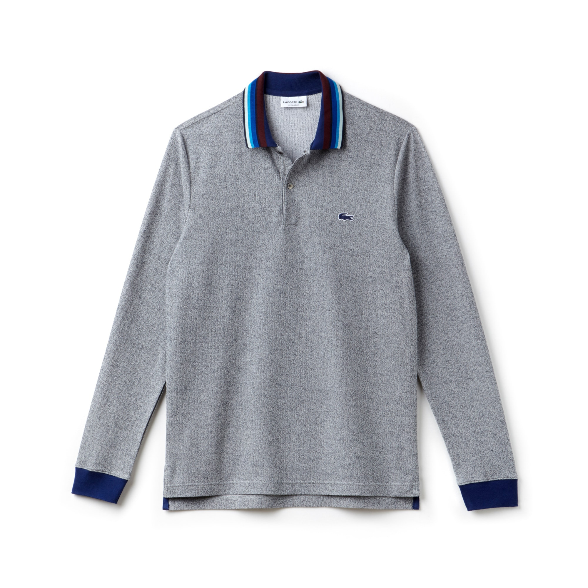 Men's Lacoste Regular Fit Piped Piqué Polo