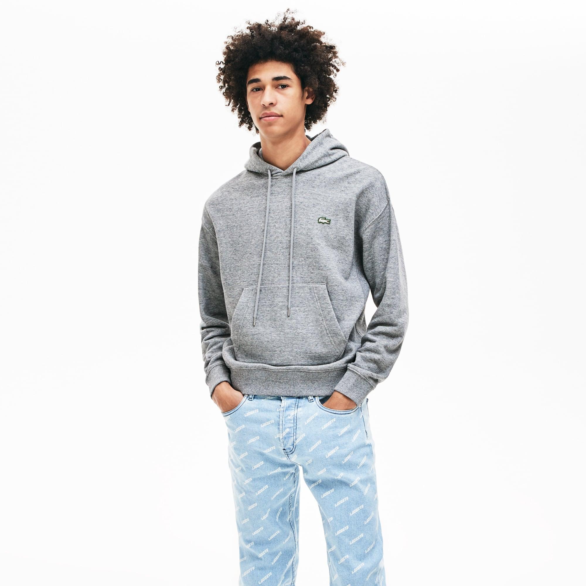 Unisex Live Sweatshirt Lacoste Cotton Hooded rdCxohBtsQ