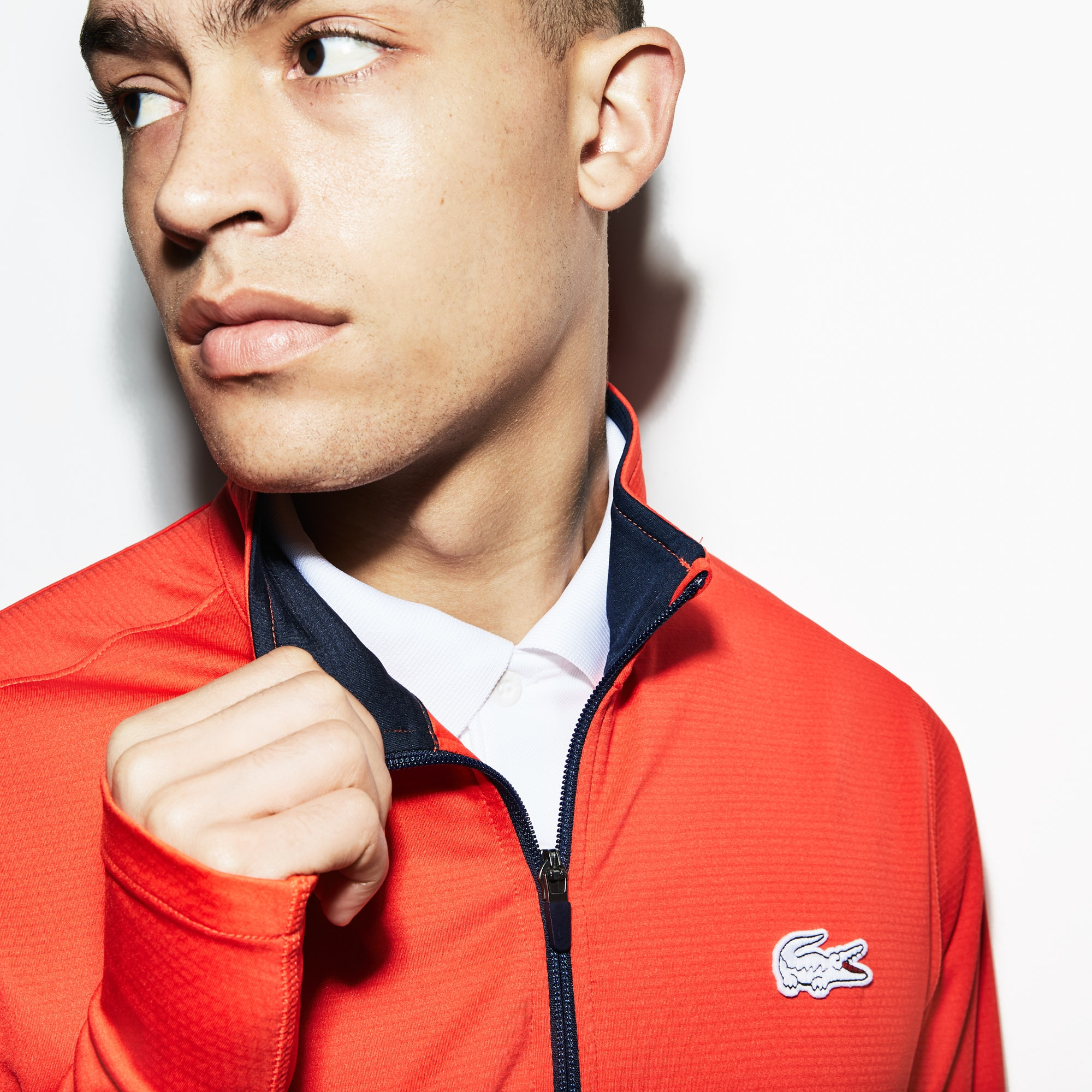 Men's Lacoste SPORT French Open Edition Stretch Tech Zip Jacket