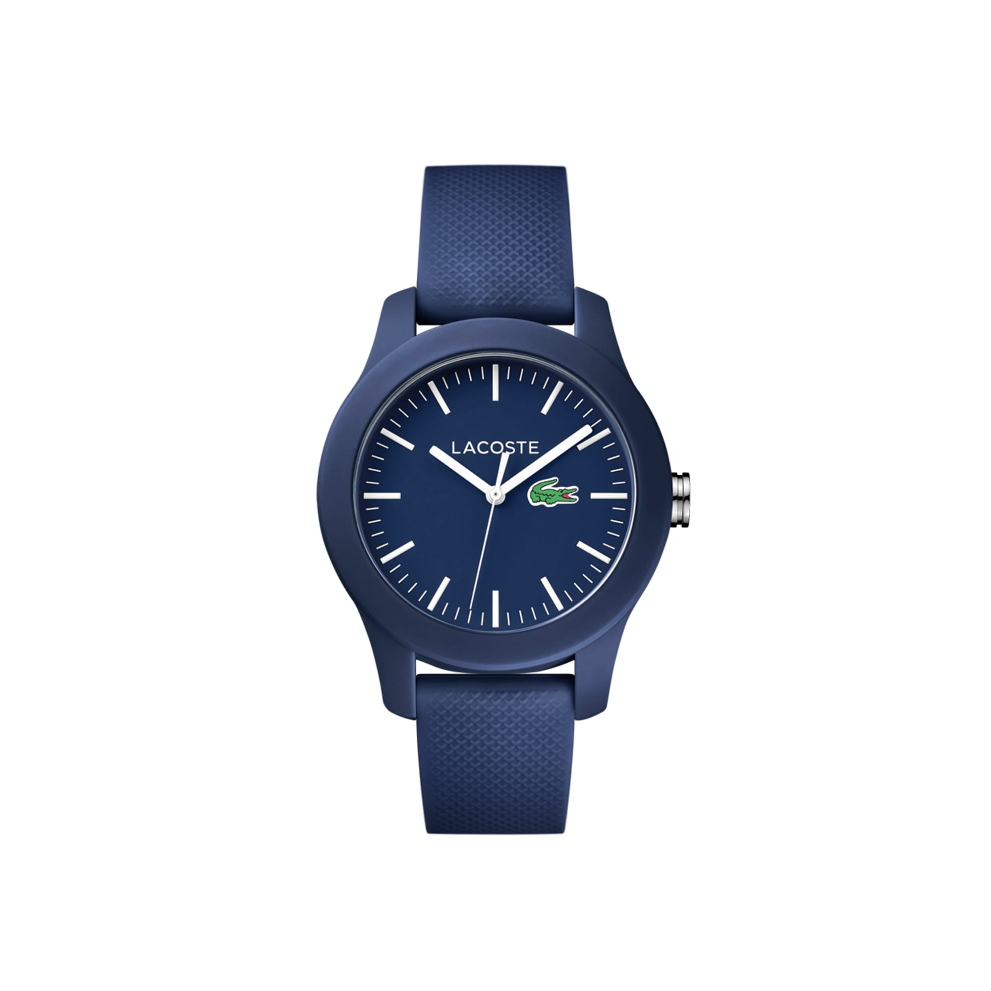 Women's Lacoste 12.12 Watch with Blue Silicone Strap
