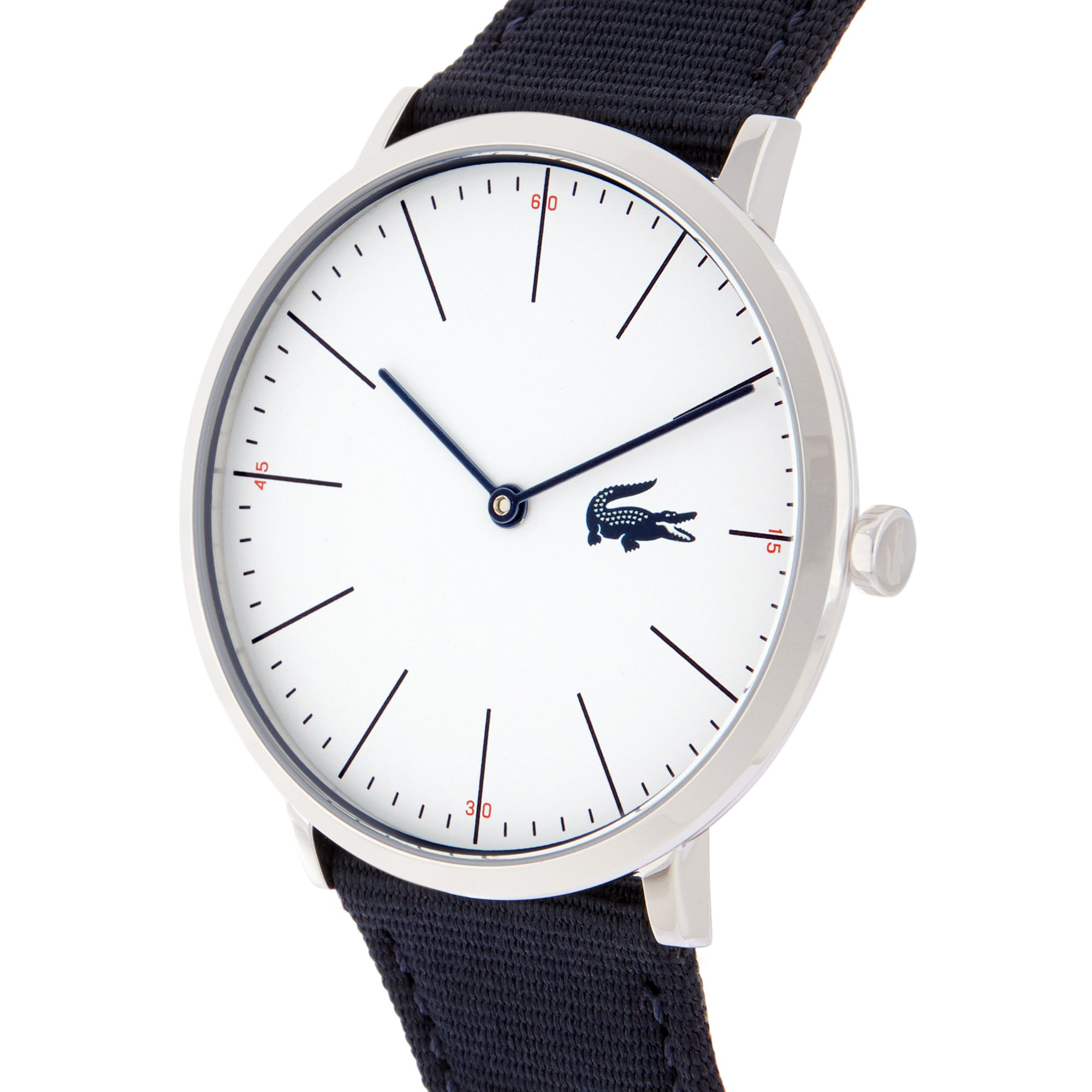 Men's Moon Watch with Blue Textile Strap