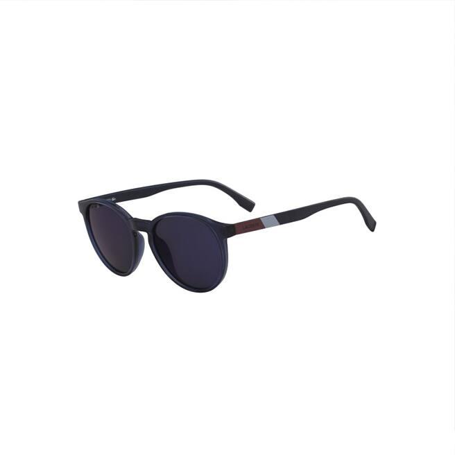 Unisex Color Block Sunglasses with Plastic Frames