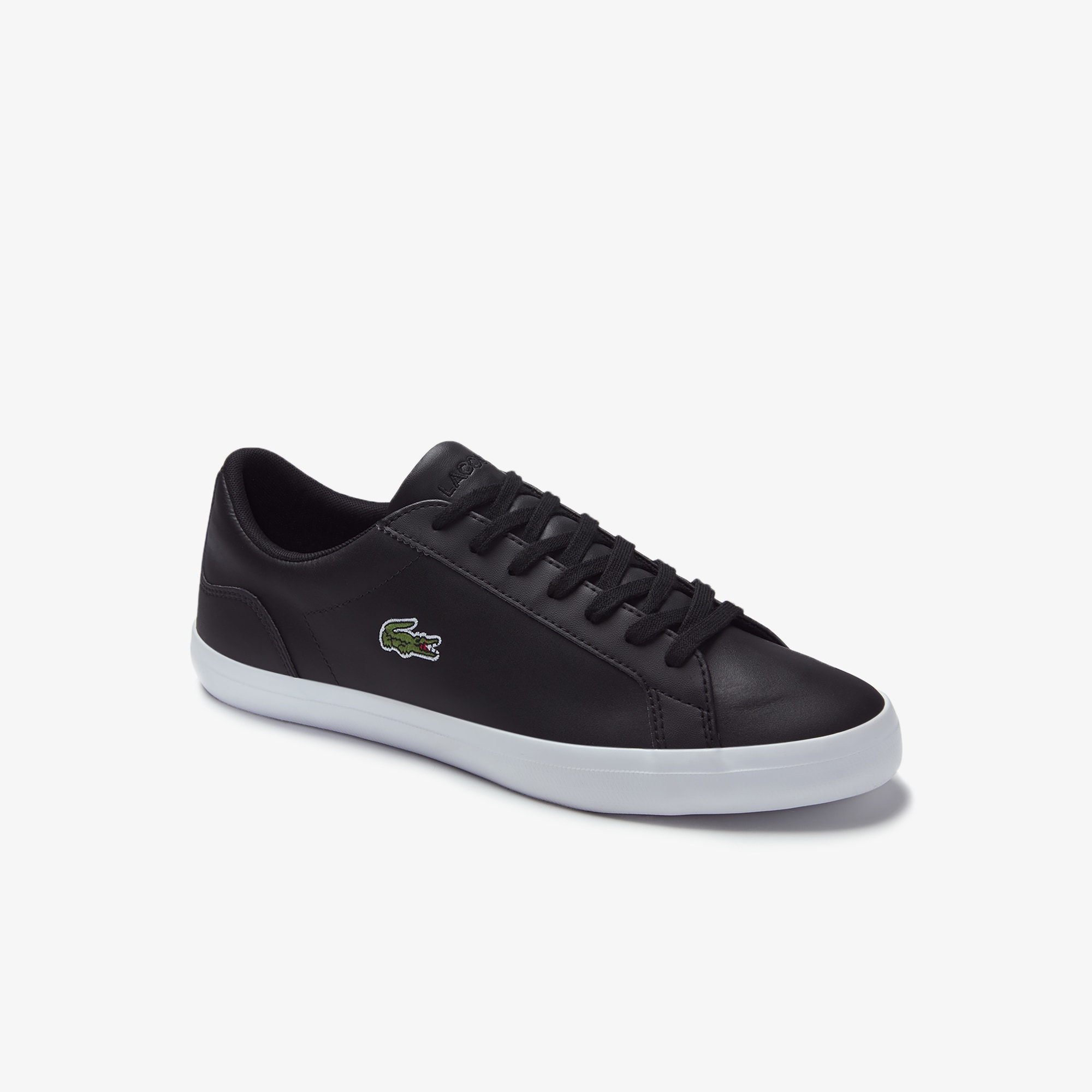 Men's Lerond Monochrome Leather Trainers
