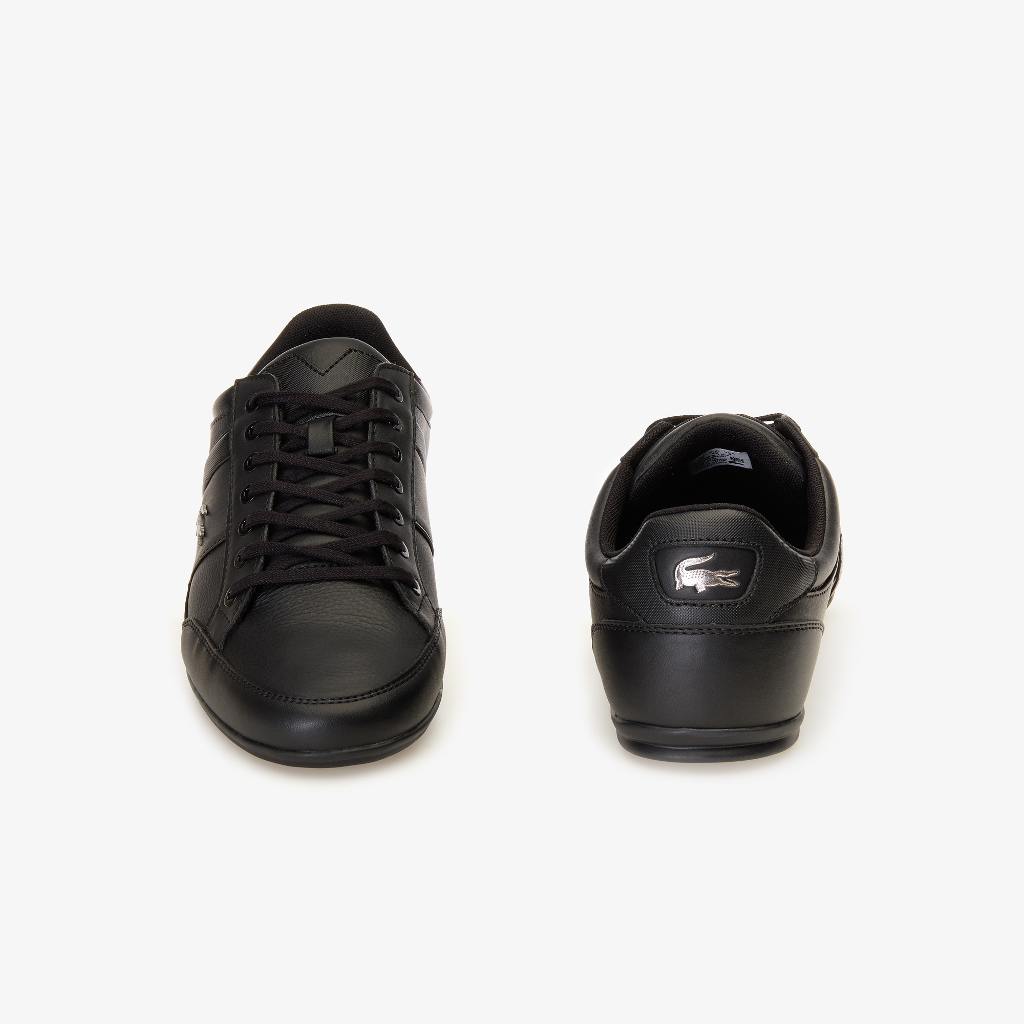 Chaymon Nappa Leather Trainers   LACOSTE