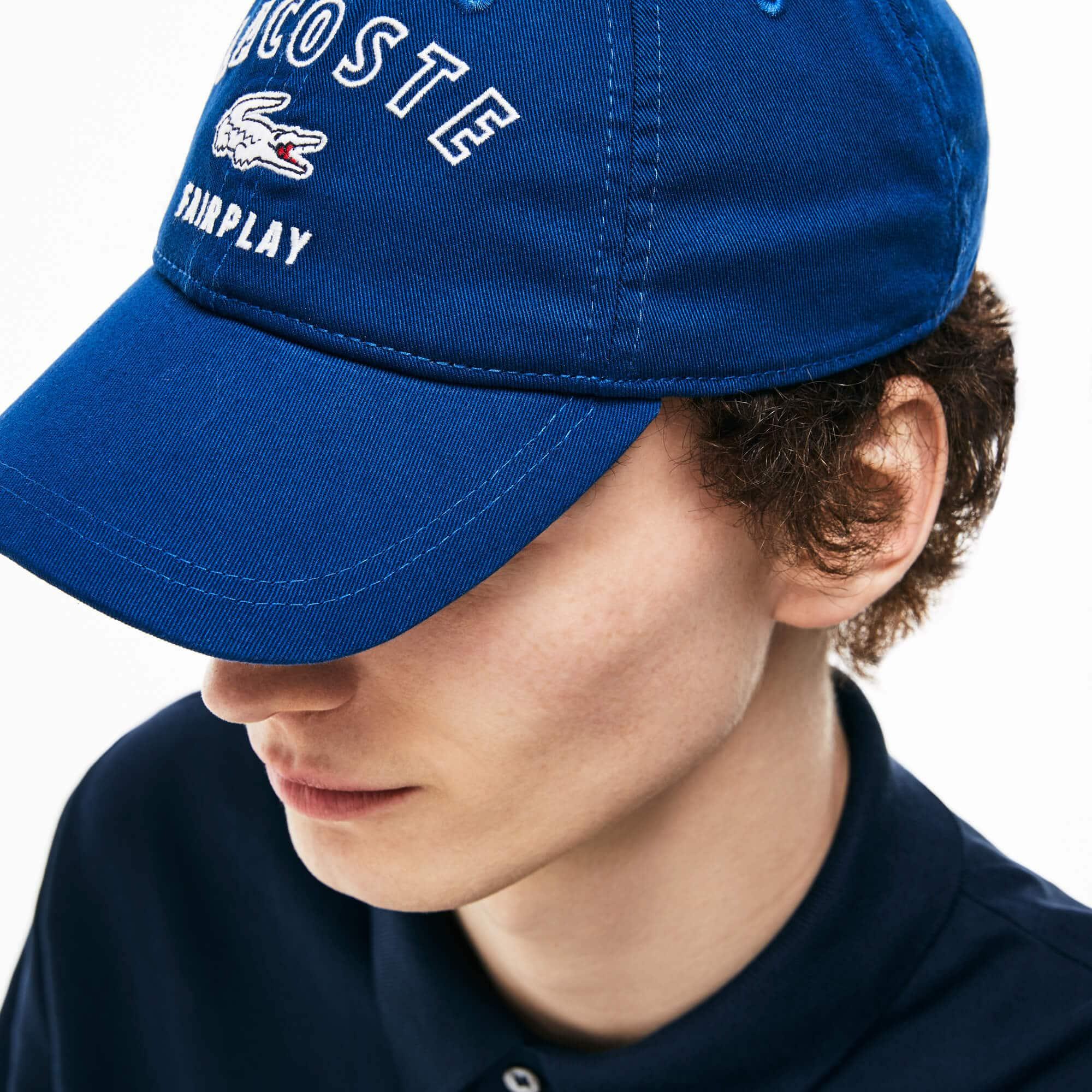 Men's Lacoste Fairplay Cotton Gabardine Cap