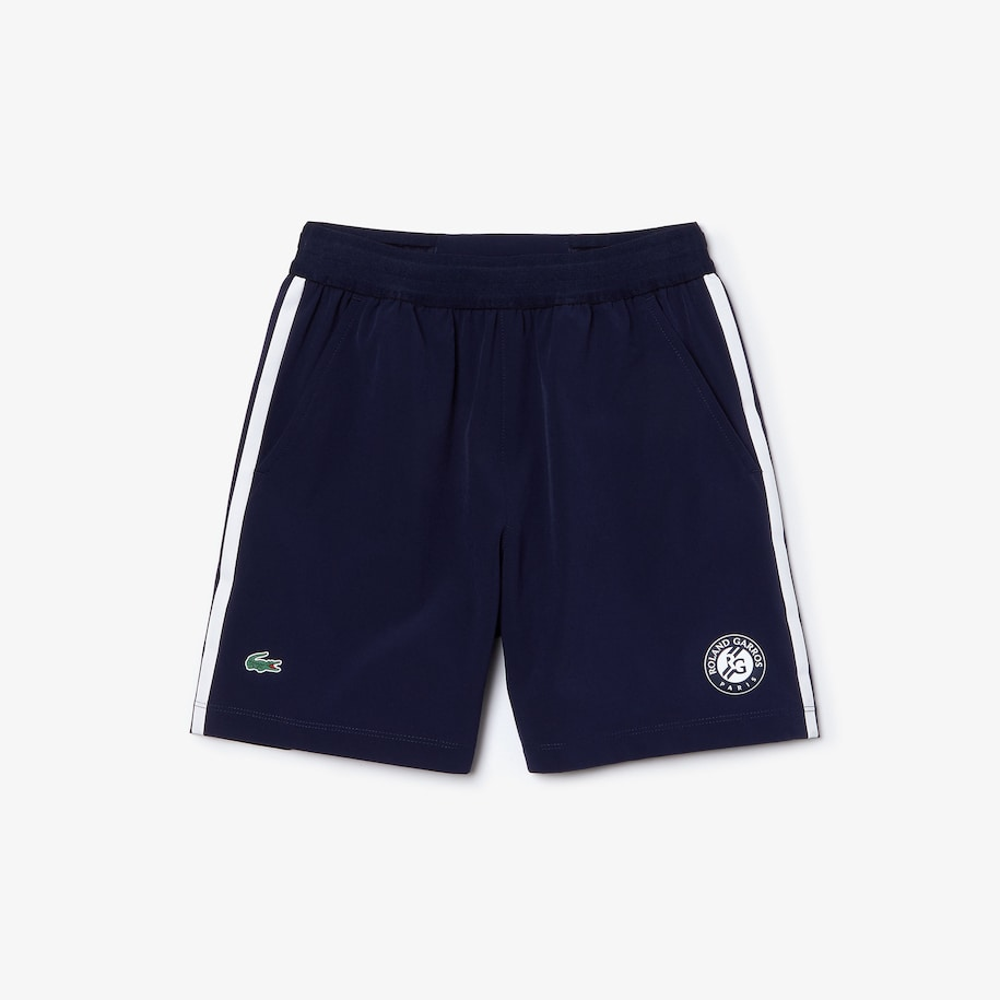 Boys' Lacoste SPORT Roland Garros Breathable Shorts