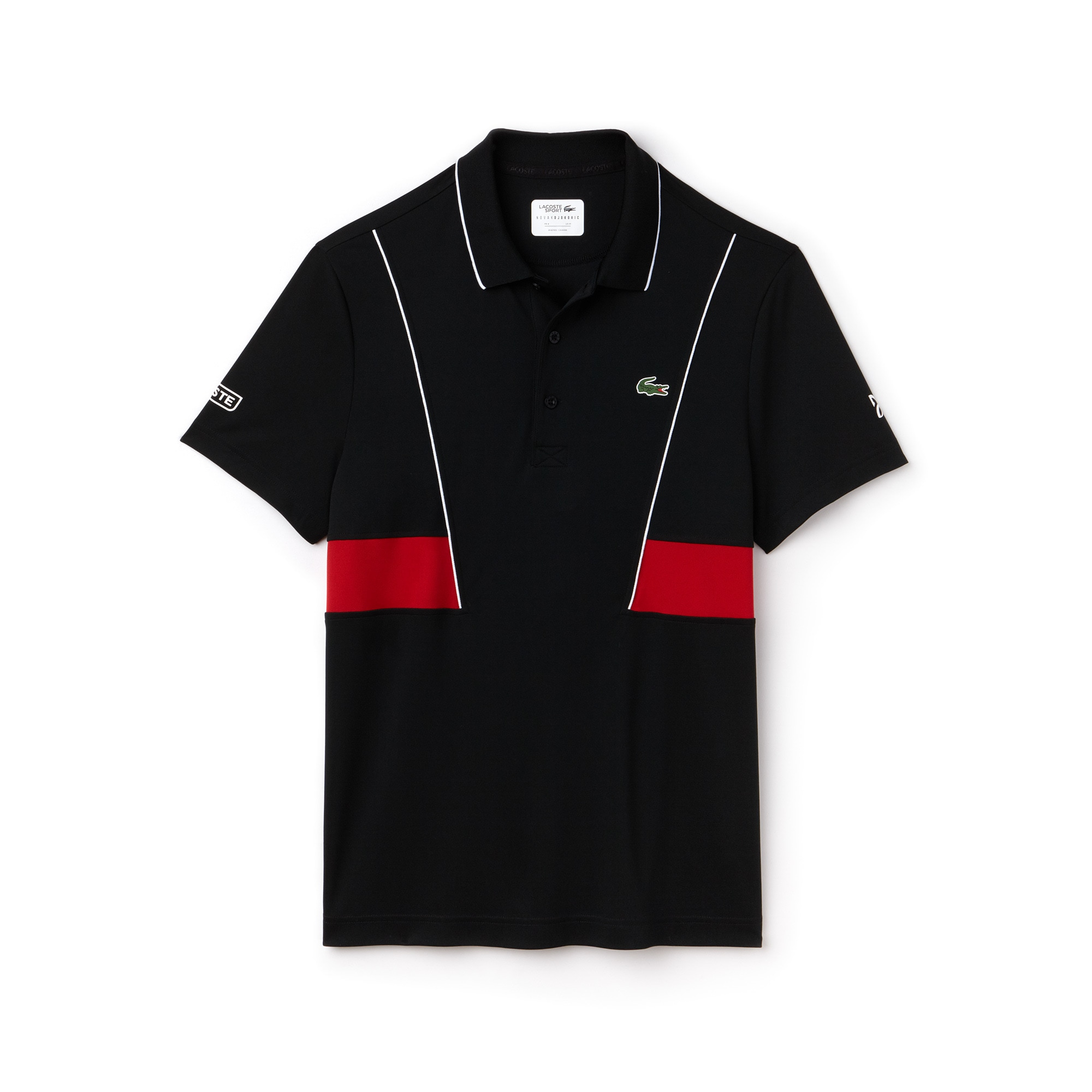 Men's LACOSTE SPORT NOVAK DJOKOVIC COLLECTION Tech Piqué Polo Shirt
