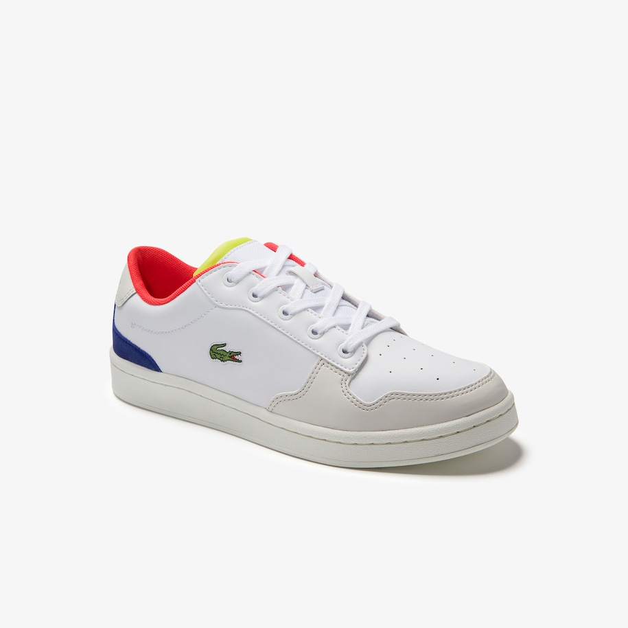 Juniors' Masters Cup Leather Lace-up Trainers