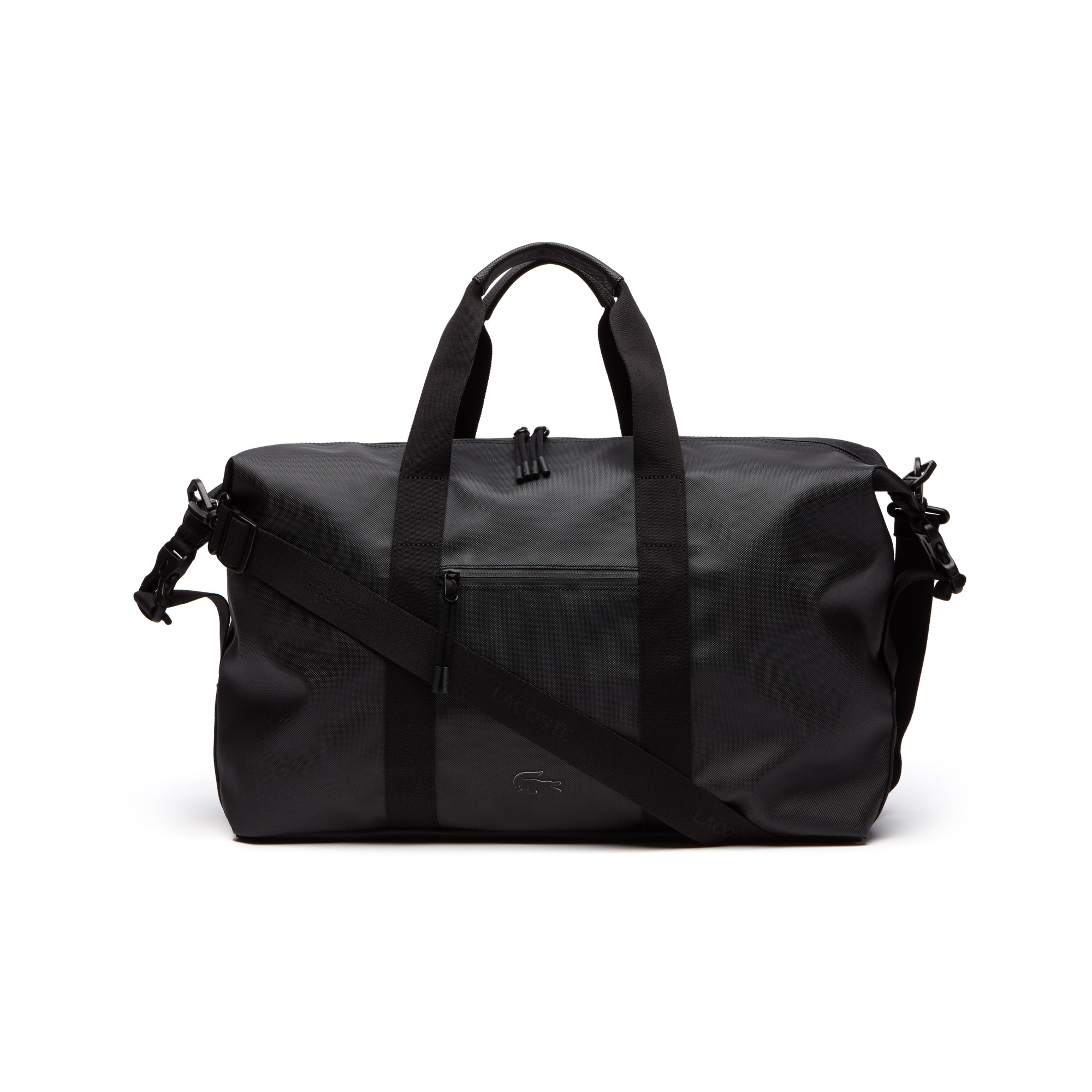 Men's L.12.12 Concept Monochrome Petit Piqué Weekend Bag