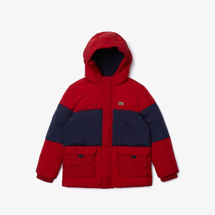 Boys' Two-Tone Quilted Jacket