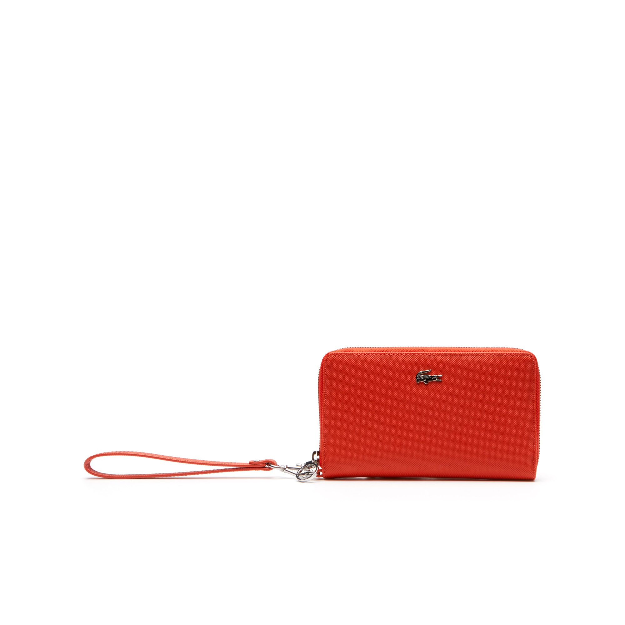 Women's Daily Classic Coated Piqué Canvas 7 Card Zip Wallet